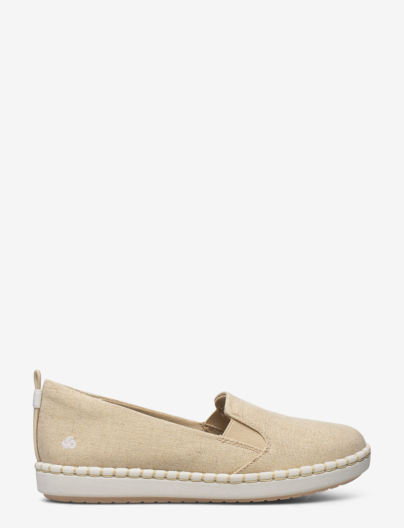 Clarks - Step Glow Slip - loafers - soft gold - 1