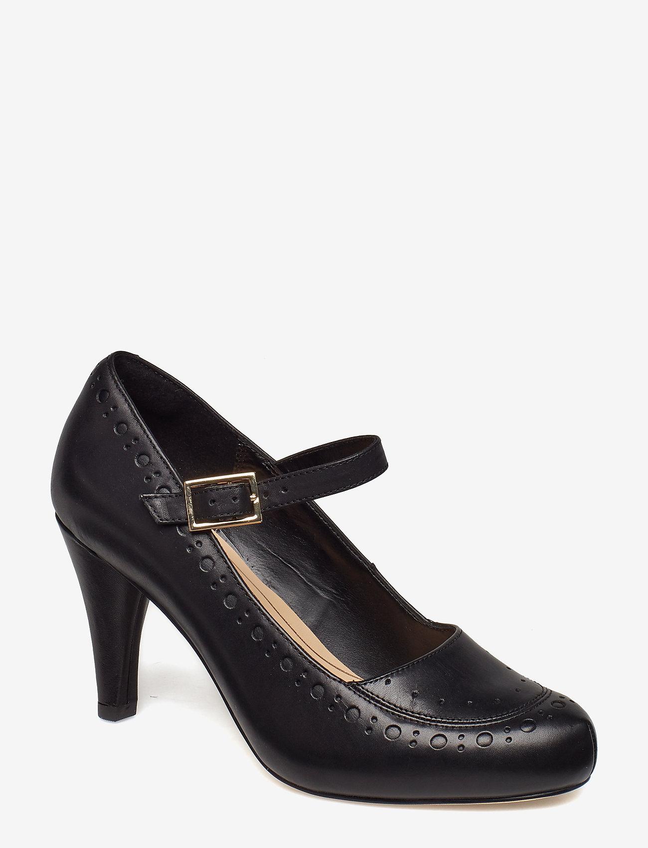 Clarks - Dalia Millie - klassiska pumps - black leather - 1