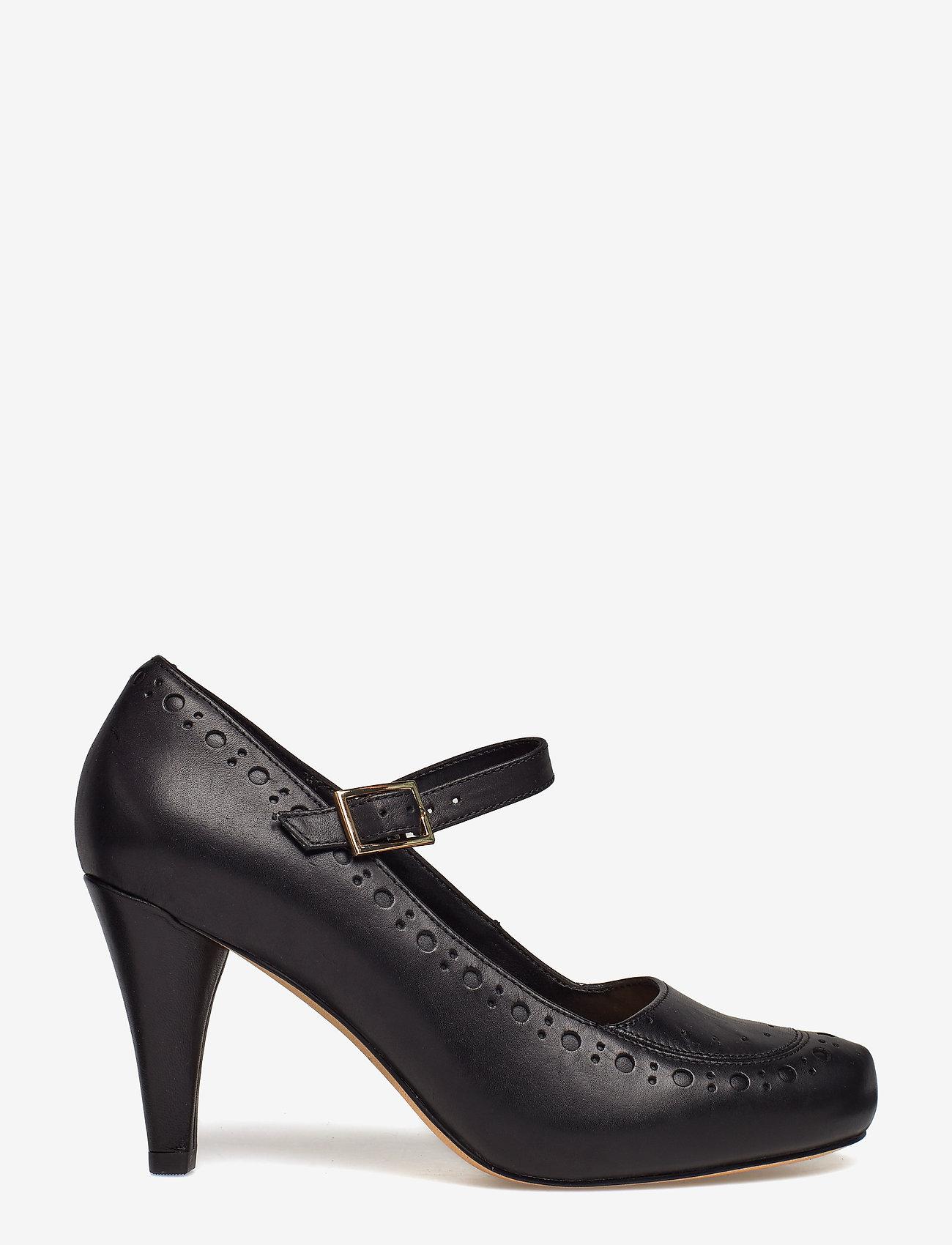 Clarks - Dalia Millie - klassiska pumps - black leather - 0
