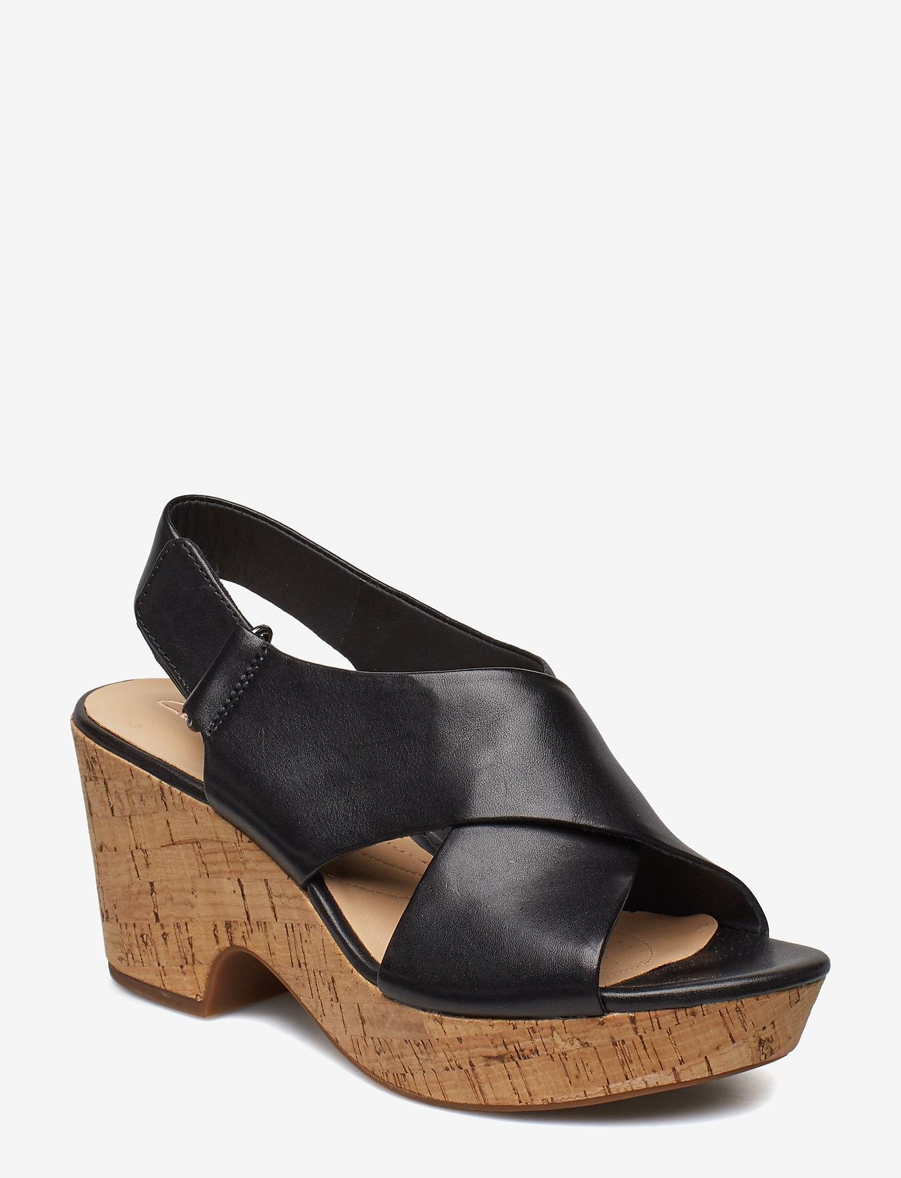 Clarks - Maritsa Lara - korolliset sandaalit - black