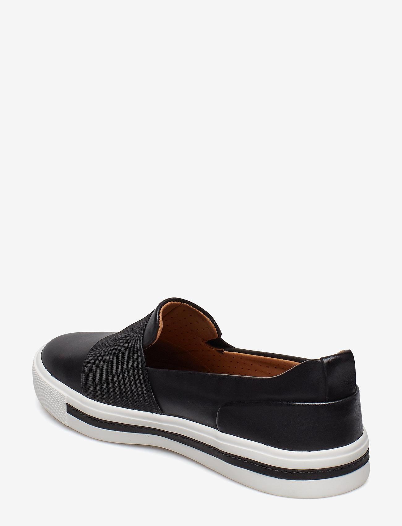 Un Maui Step (Black Leather) - Clarks