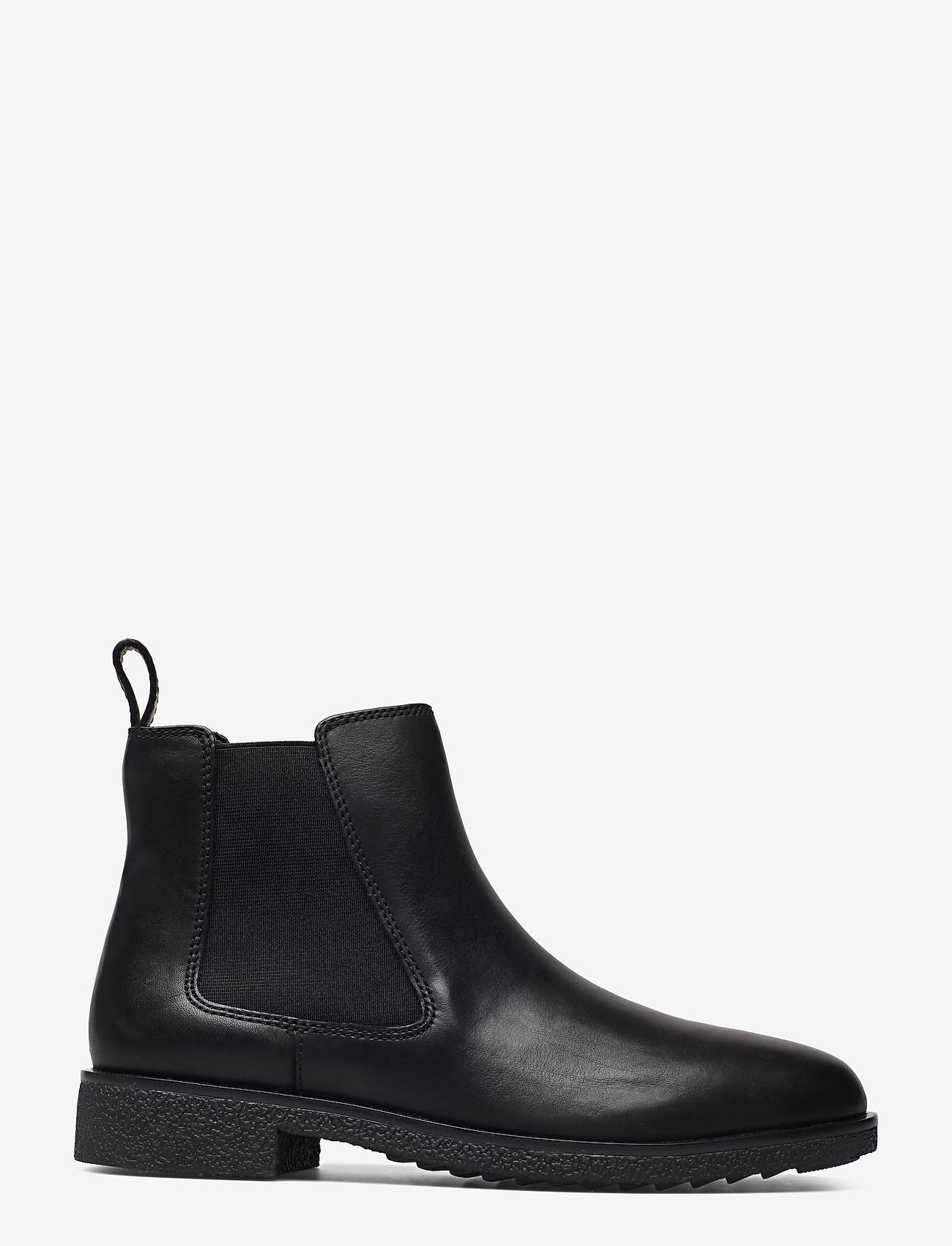 Griffin Plaza (Black Leather) - Clarks 5h50Ib
