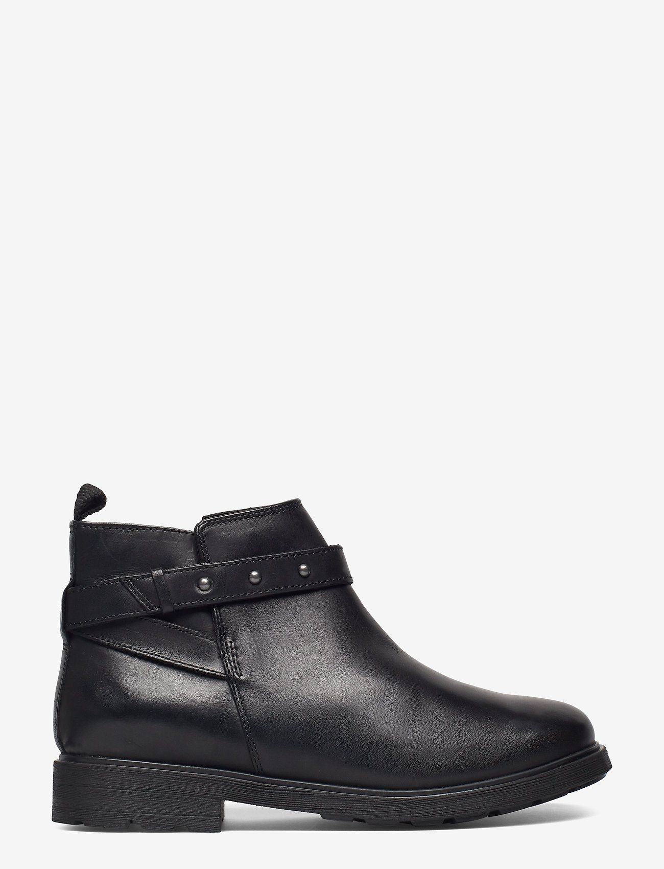 Clarks - Astrol Soar Y - flade ankelstøvler - black leather - 1