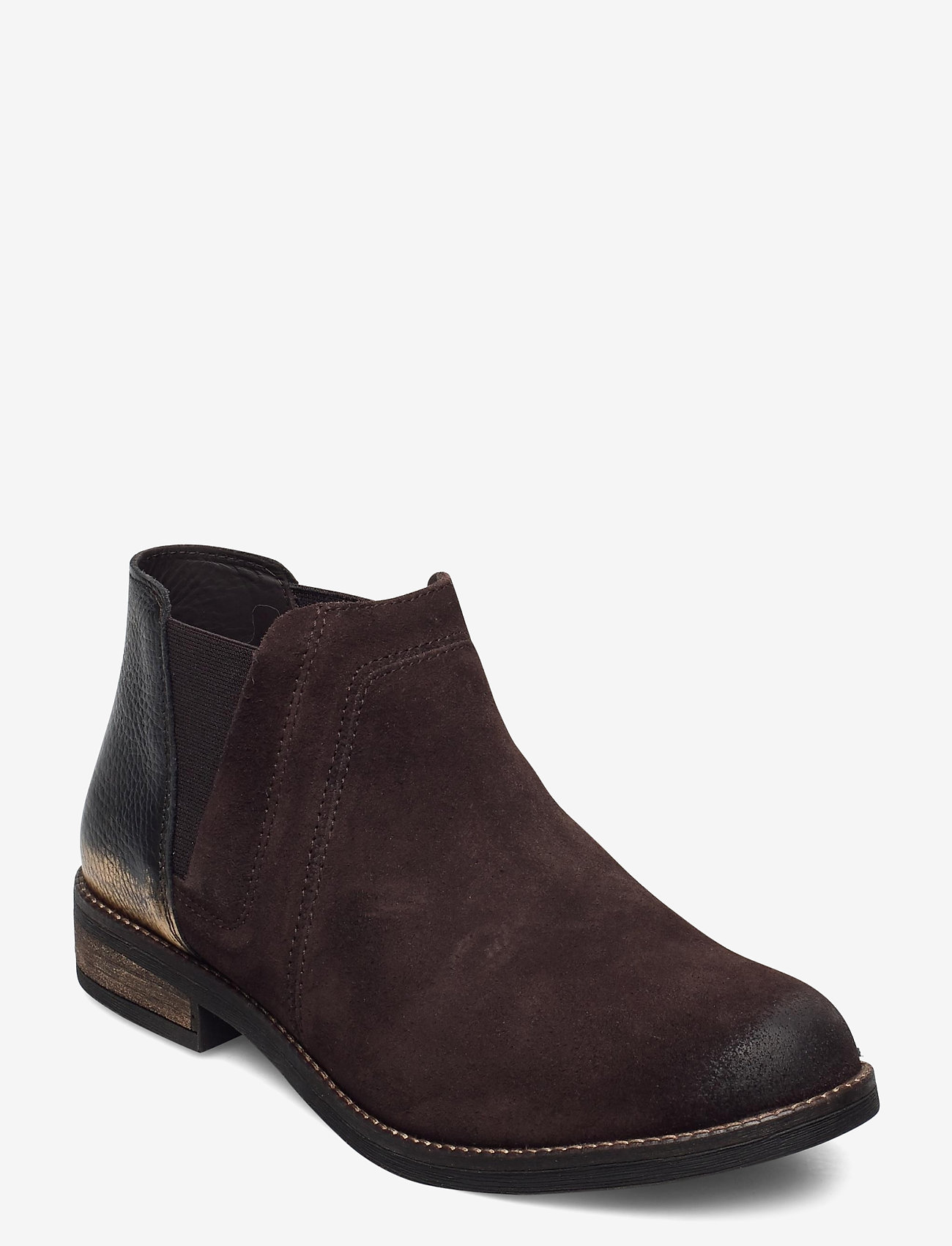 Clarks - Demi Beat - platta ankelboots - dark brown - 0