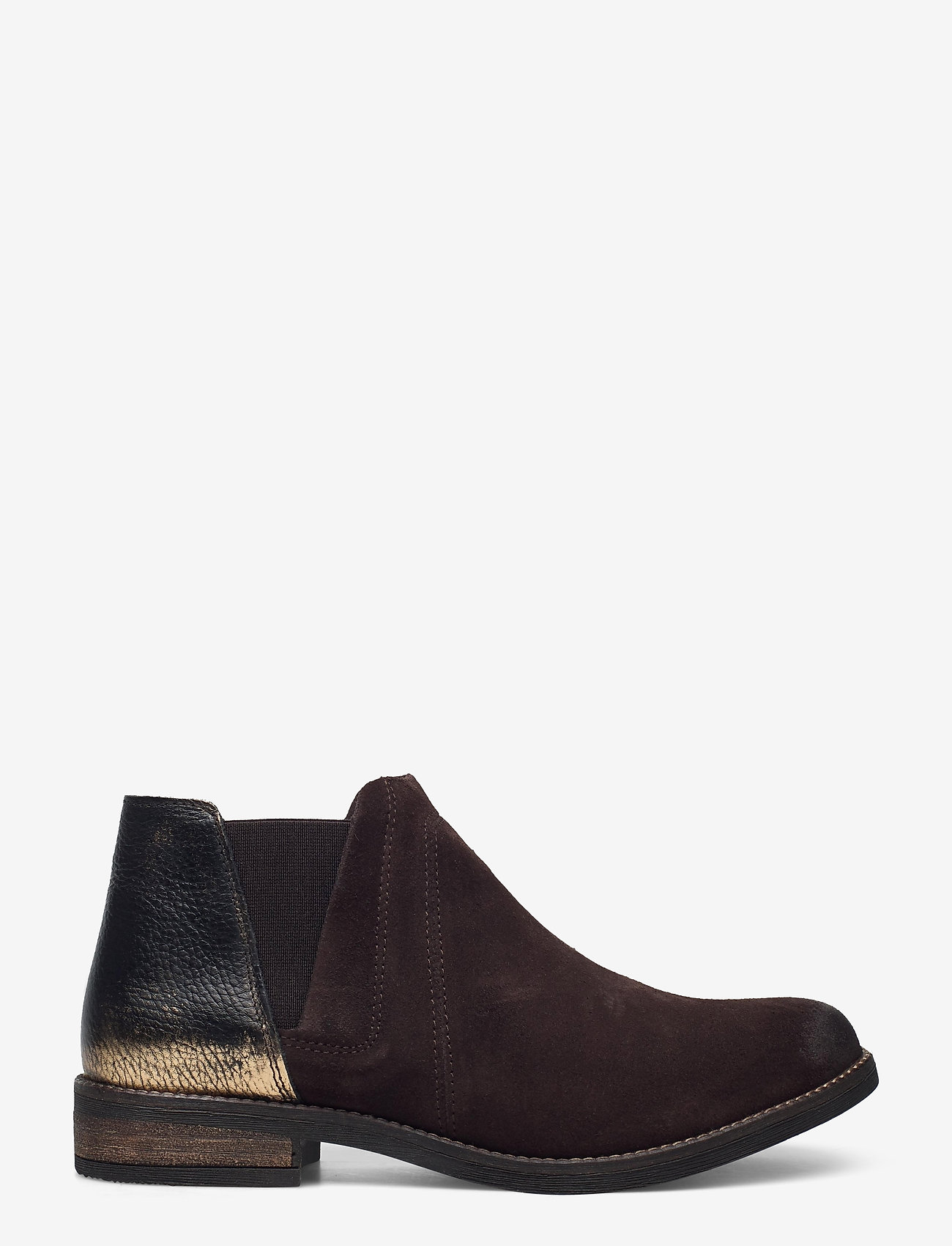 Clarks - Demi Beat - platta ankelboots - dark brown - 1
