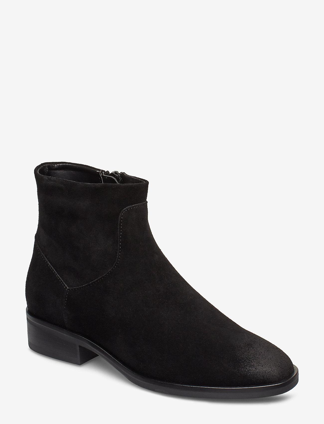 Clarks - Pure Rosa - flade ankelstøvler - black sde - 0