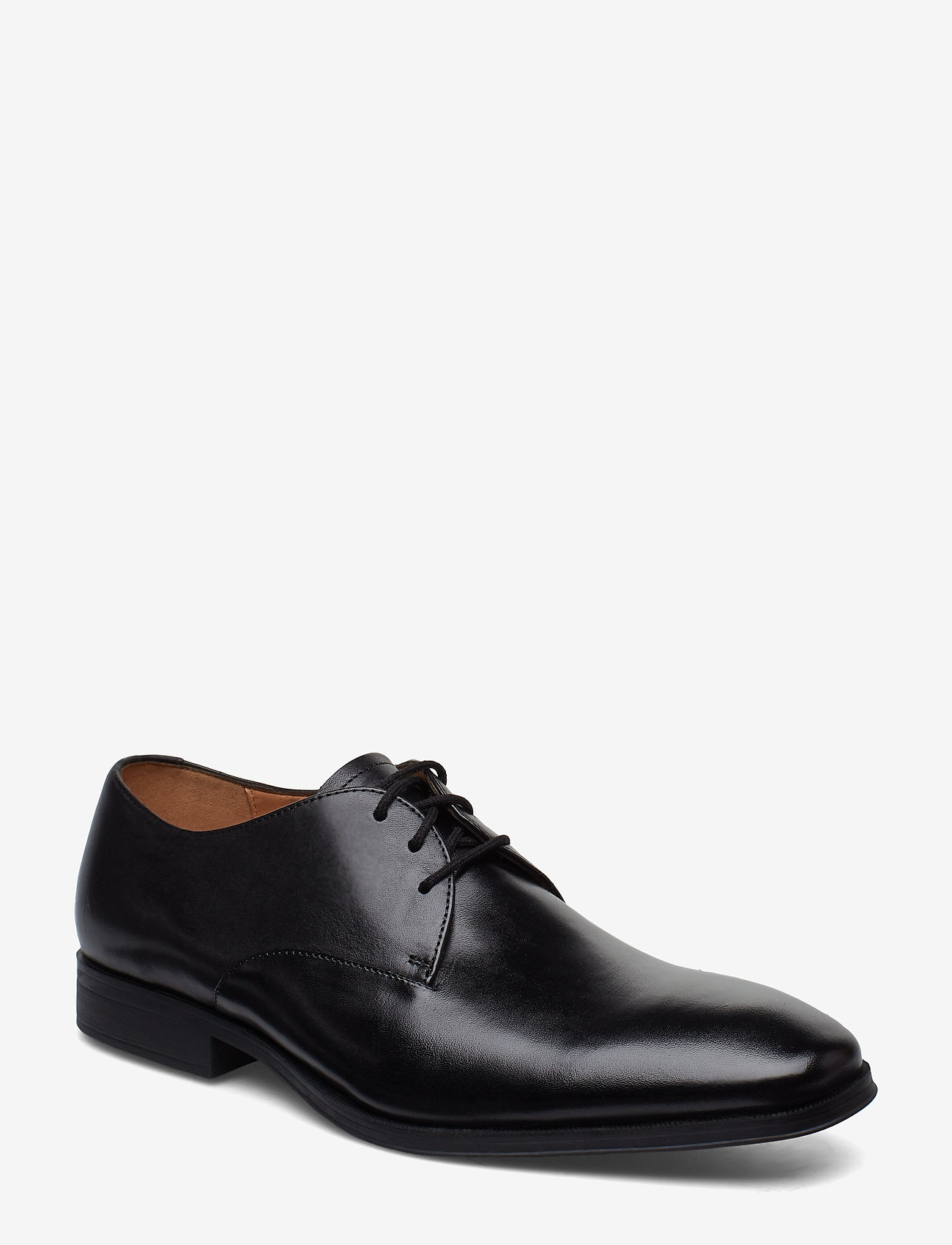 Clarks - Gilman Walk - snøresko - black leather - 0
