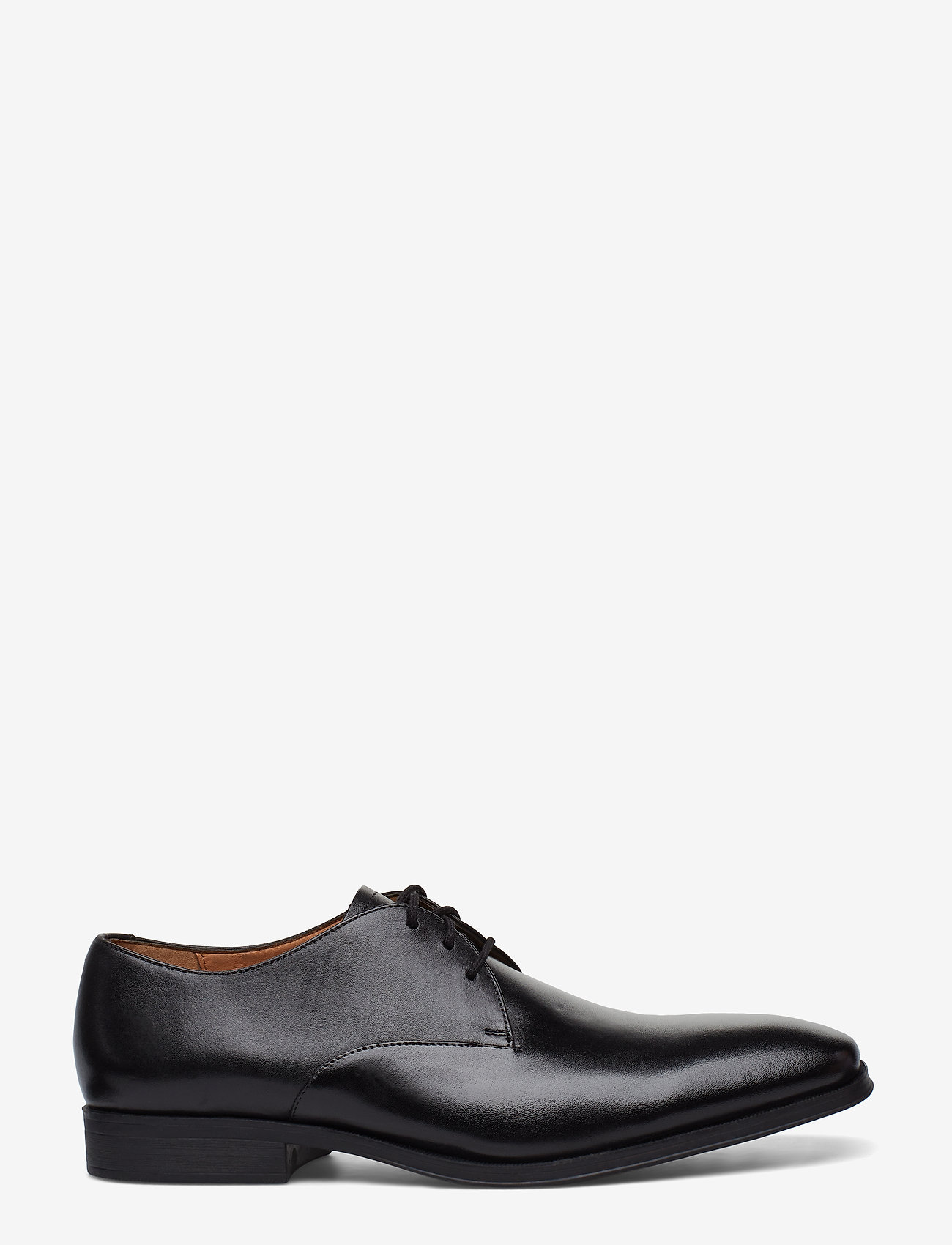 Clarks - Gilman Walk - snøresko - black leather - 1