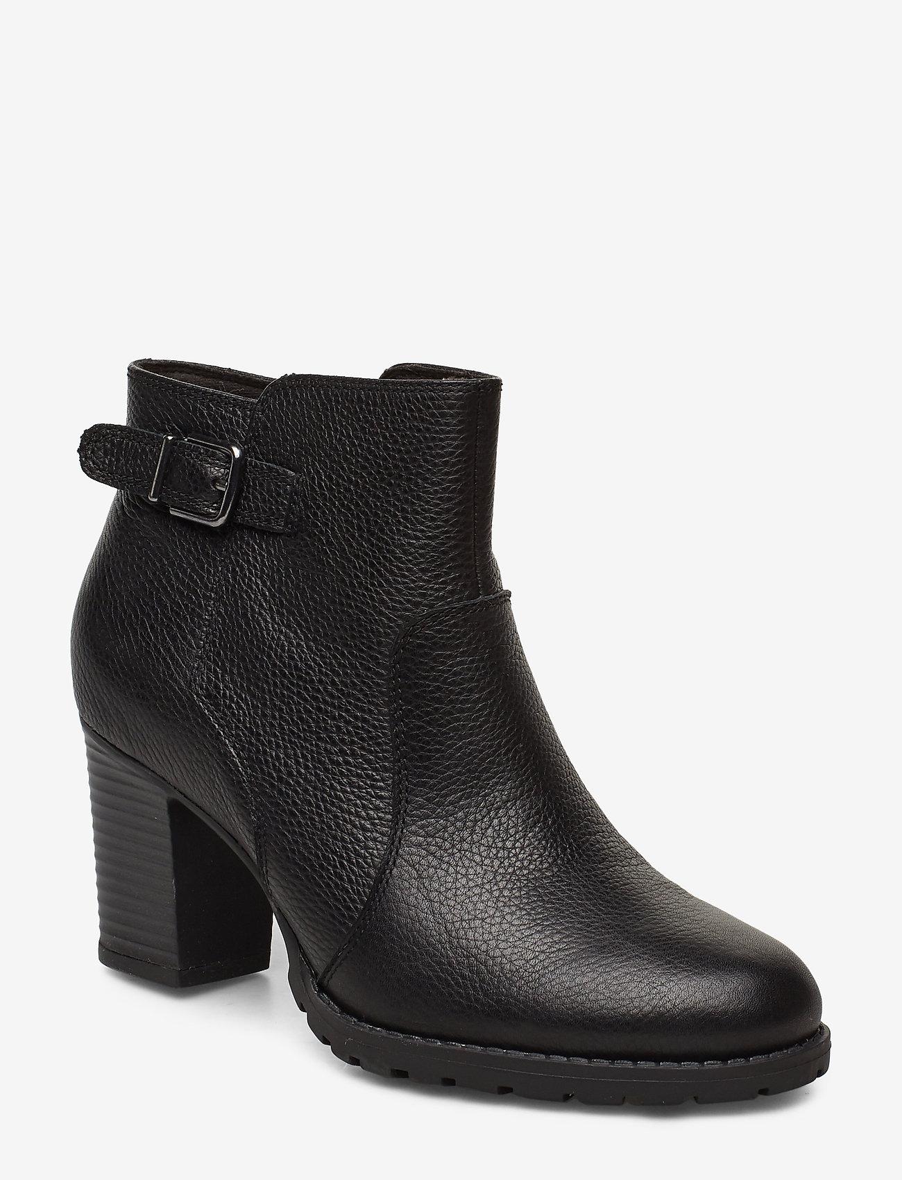 Clarks - Verona Gleam - ankelstøvler med hæl - black - 0