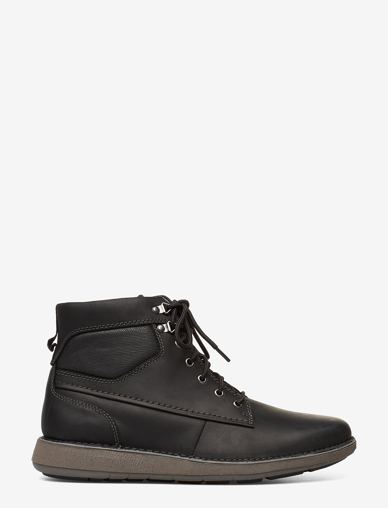 Un Larvik Peak (Black Leather) (78 €) - Clarks ETHZh
