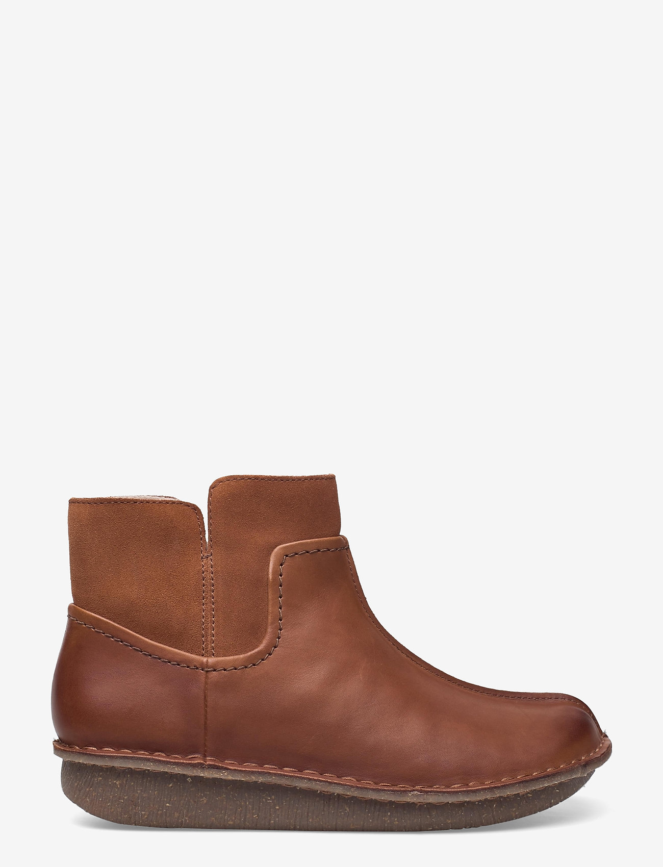 Clarks - Funny Mid - flat ankle boots - dark tan combi - 1