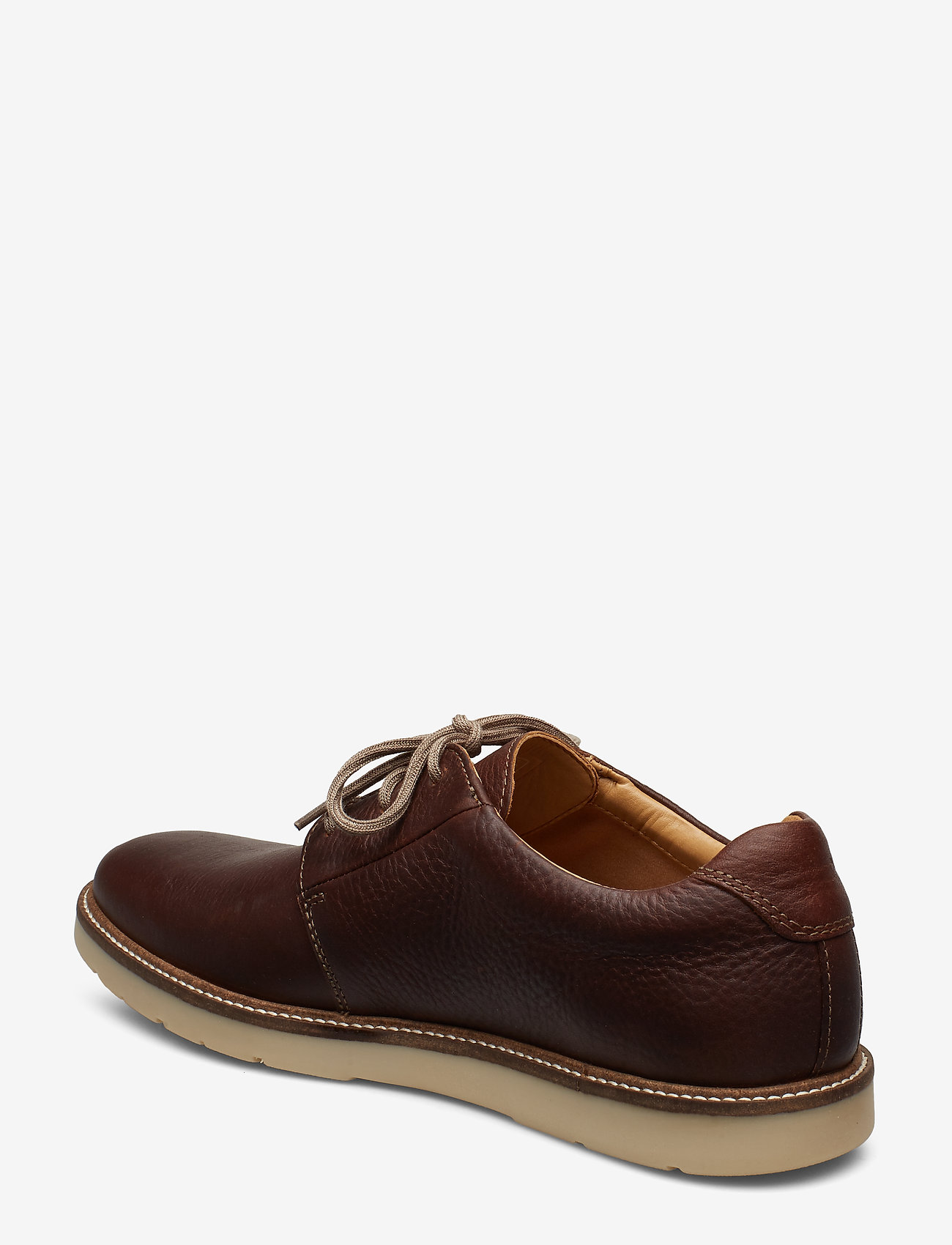 Grandin Plain (Tan Leather) - Clarks