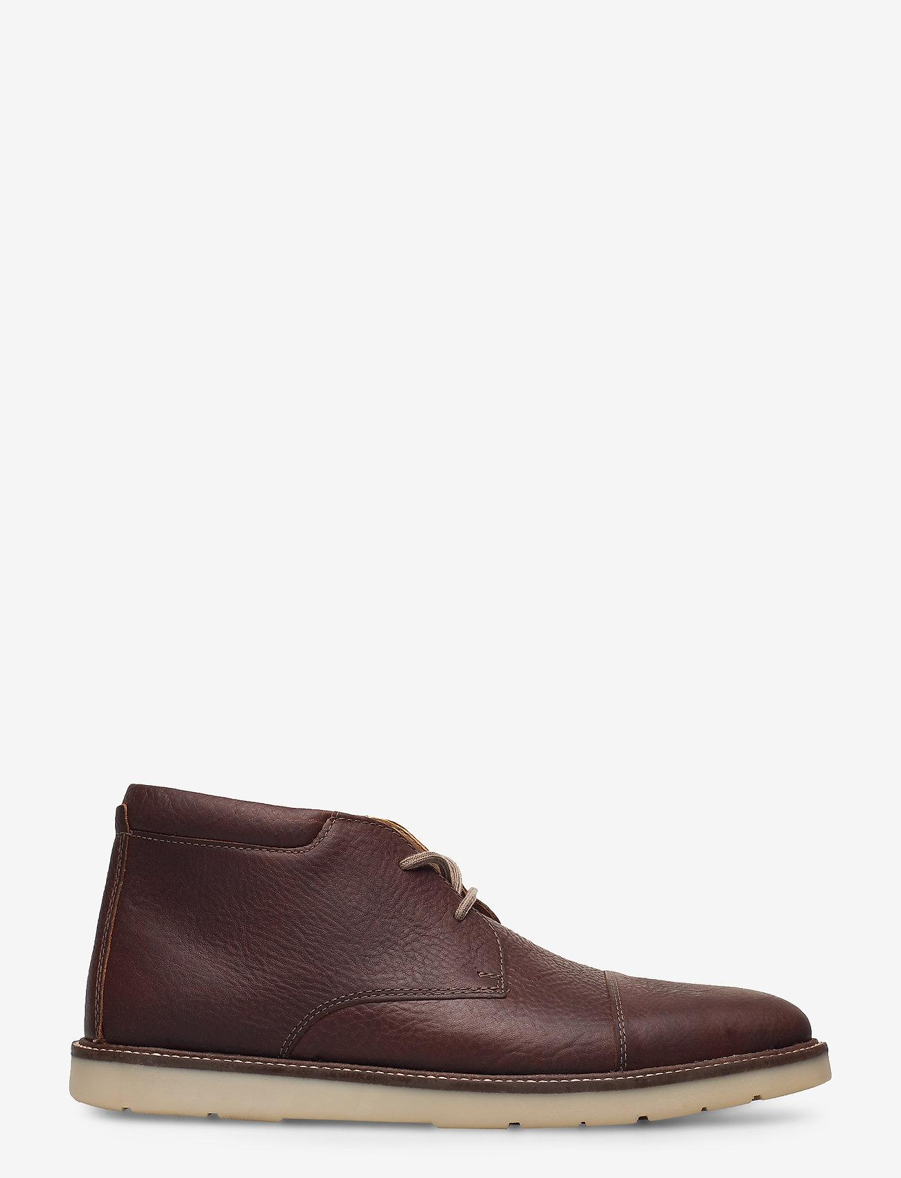 Clarks - Grandin Top - desert boots - tan tumbled - 1