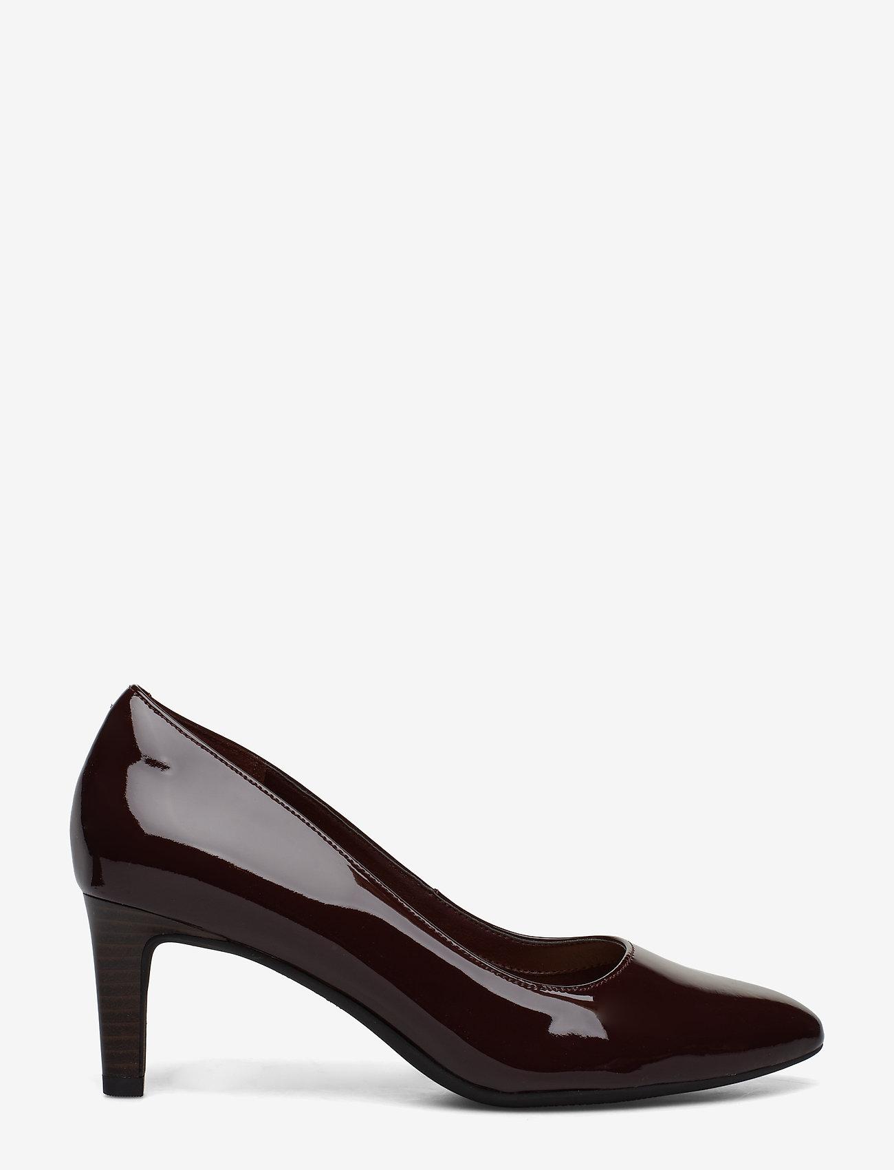Clarks - Calla Rose - escarpins classiques - burgundy patent - 1
