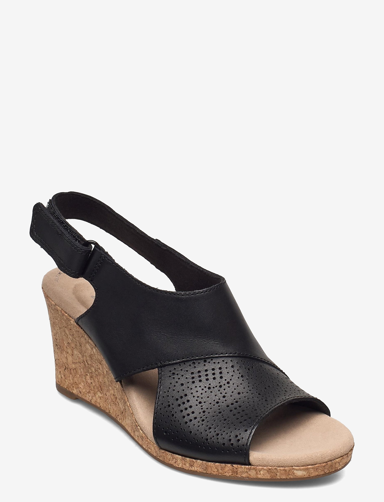 Clarks - Lafley Joy - kilklackar - black leather - 1