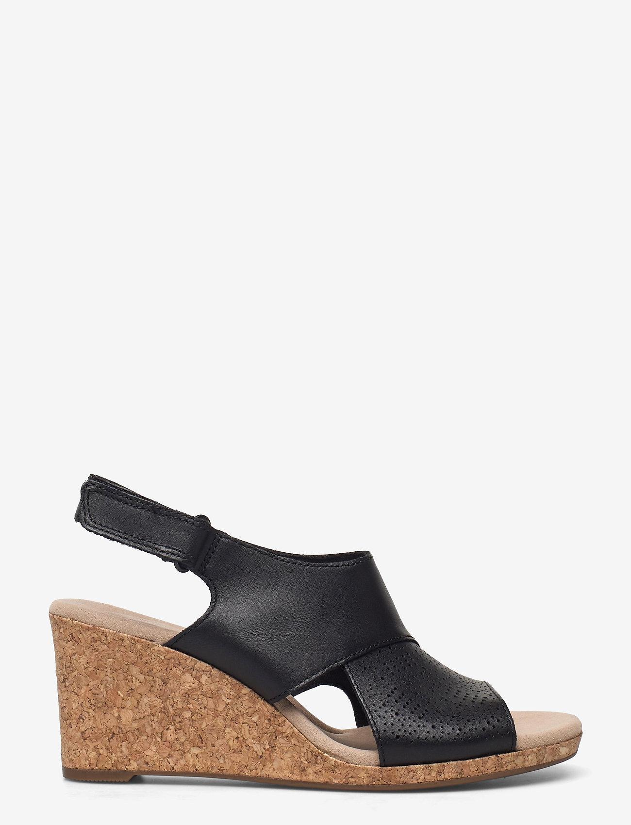 Clarks - Lafley Joy - kilklackar - black leather - 0