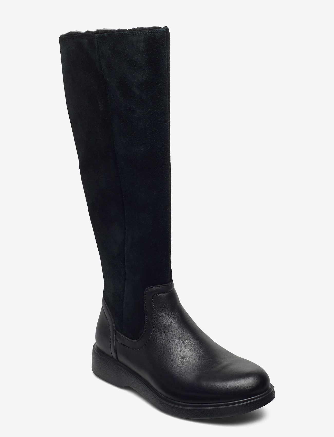 Clarks - Un Elda Hi - höga stövlar - black combi - 0