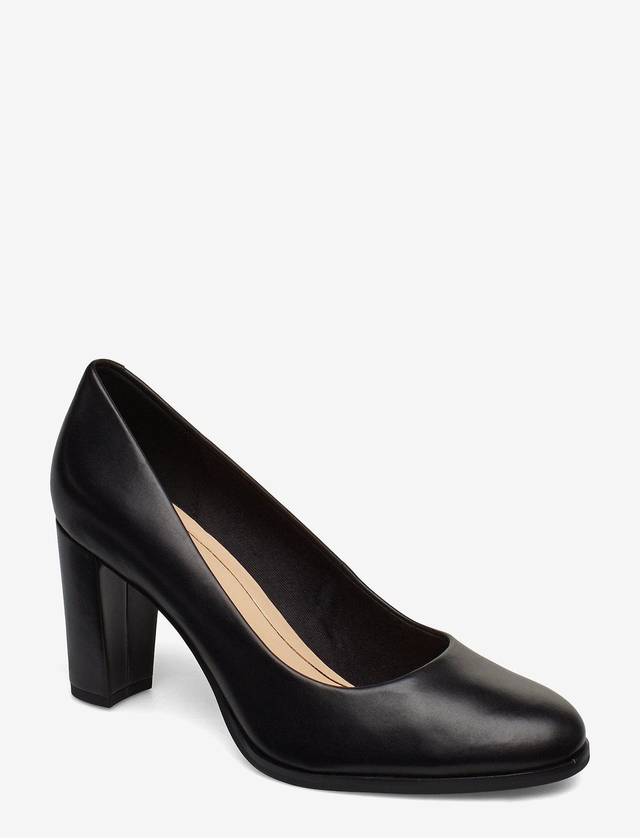 Clarks - Kaylin Cara - klassiske pumps - black leather - 0