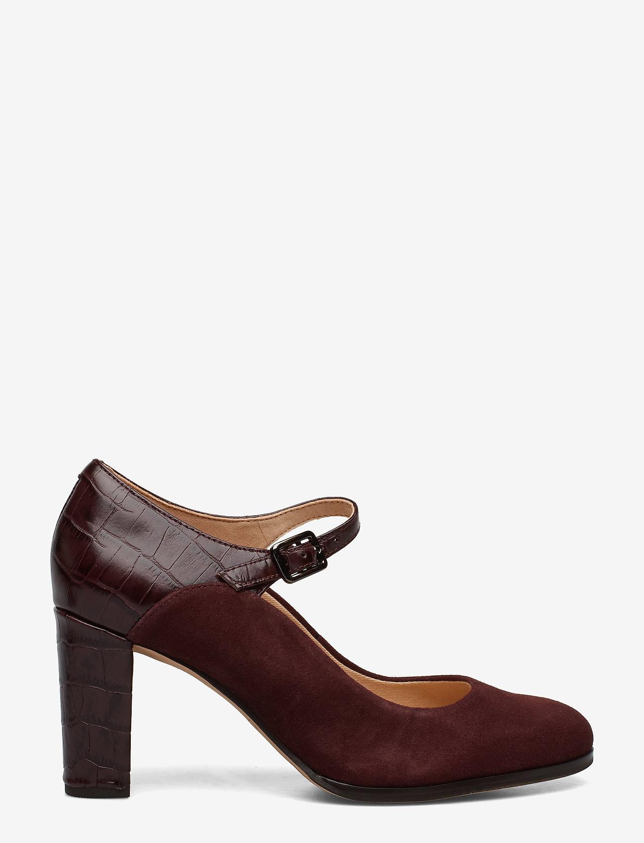 Clarks - Kaylin Alba - escarpins classiques - burgundy combi - 1