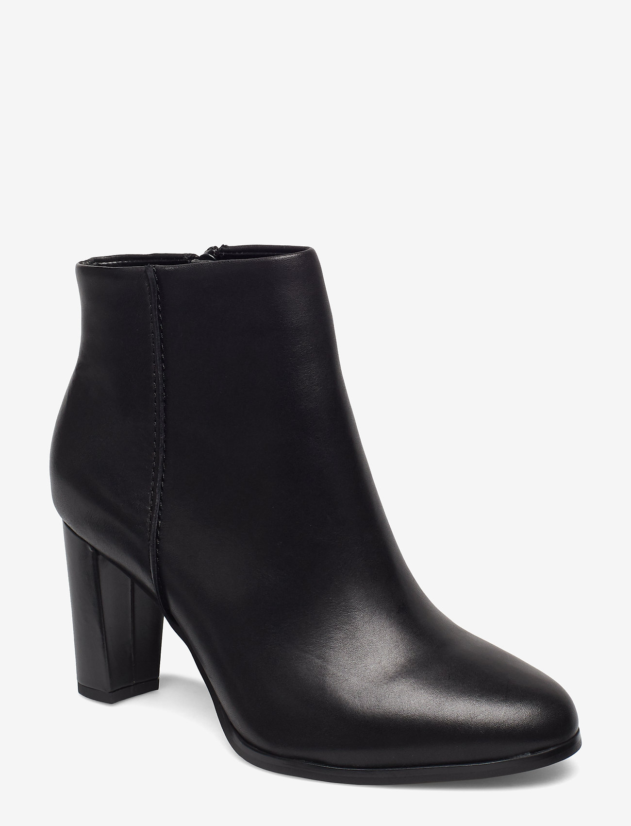 Clarks - Kaylin Fern - ankelboots med klack - black leather - 0