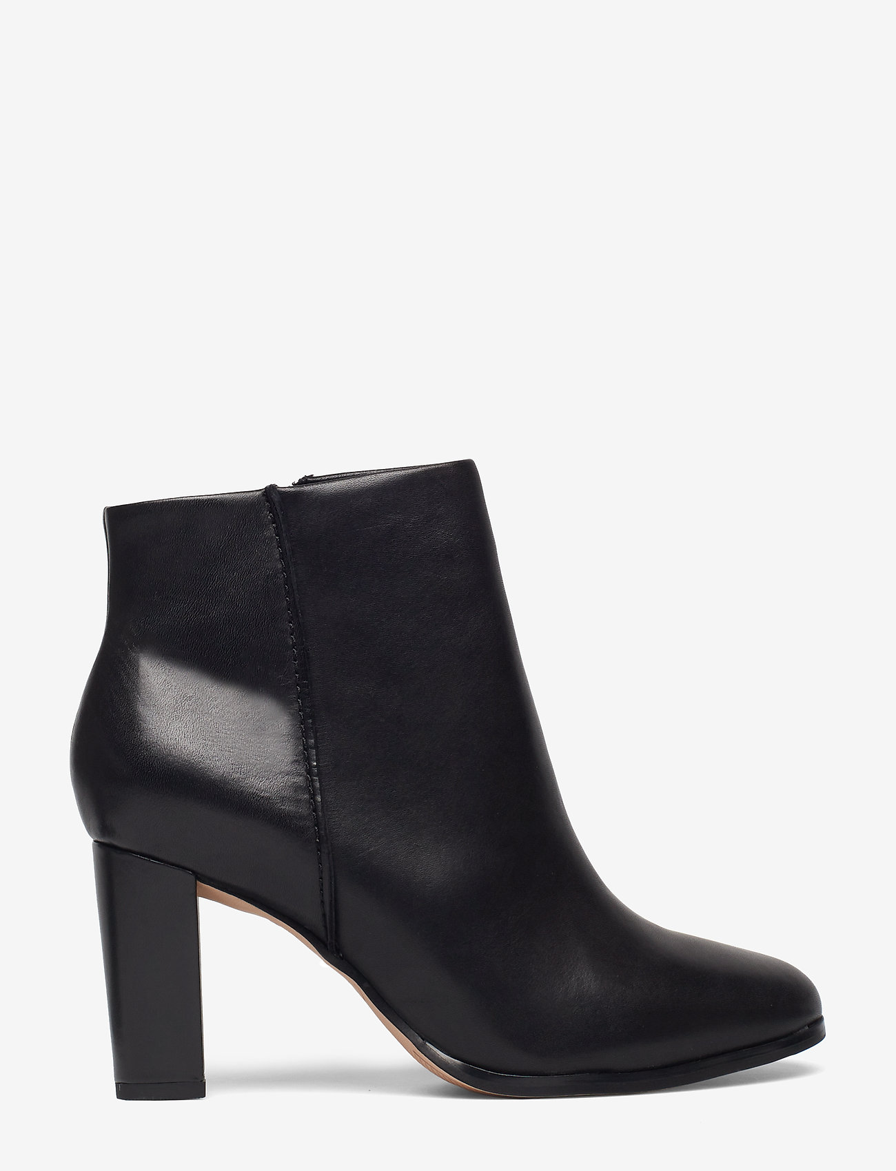 Clarks - Kaylin Fern - ankelboots med klack - black leather - 1