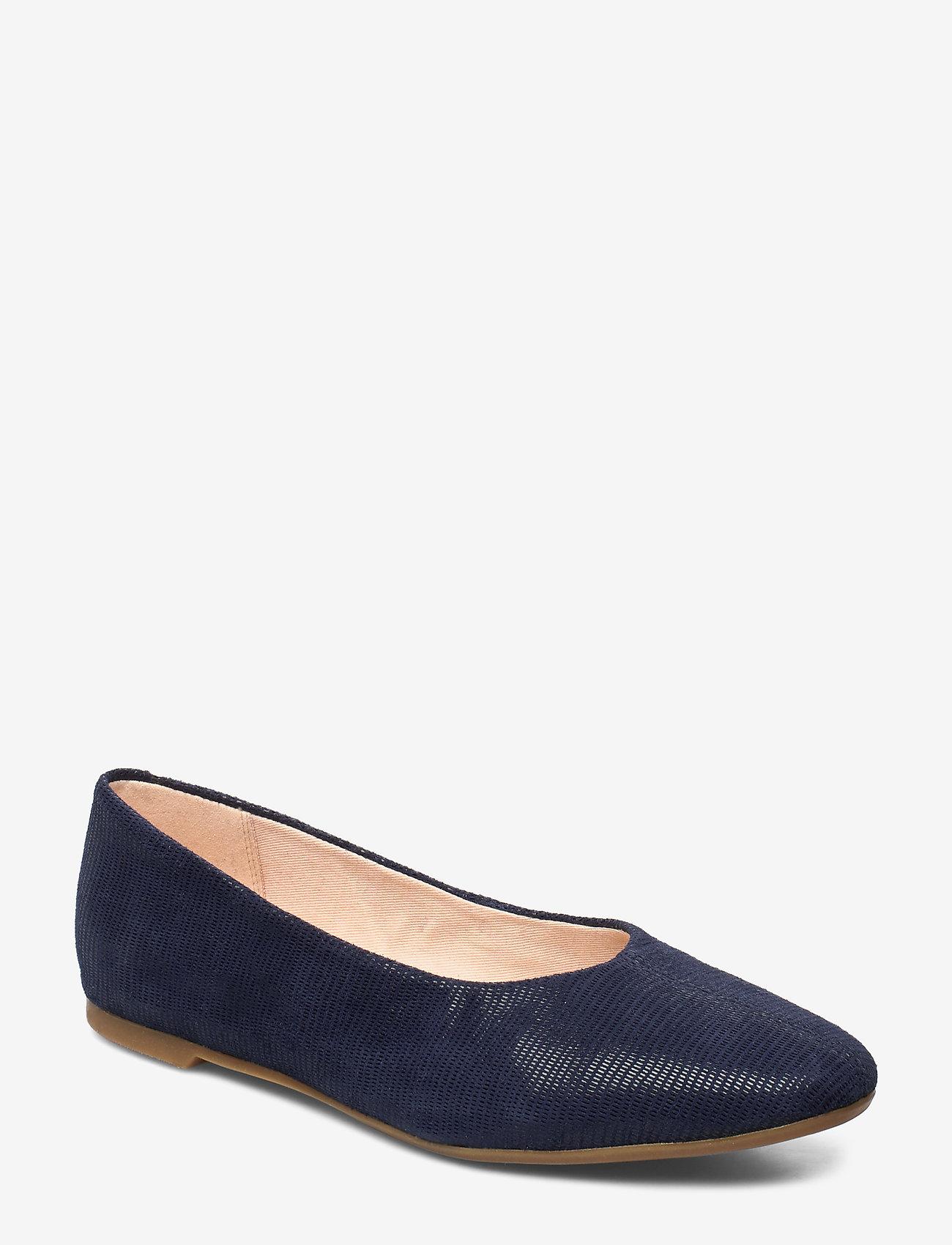 Clarks - Chia Violet - ballerinas - navy interest - 0