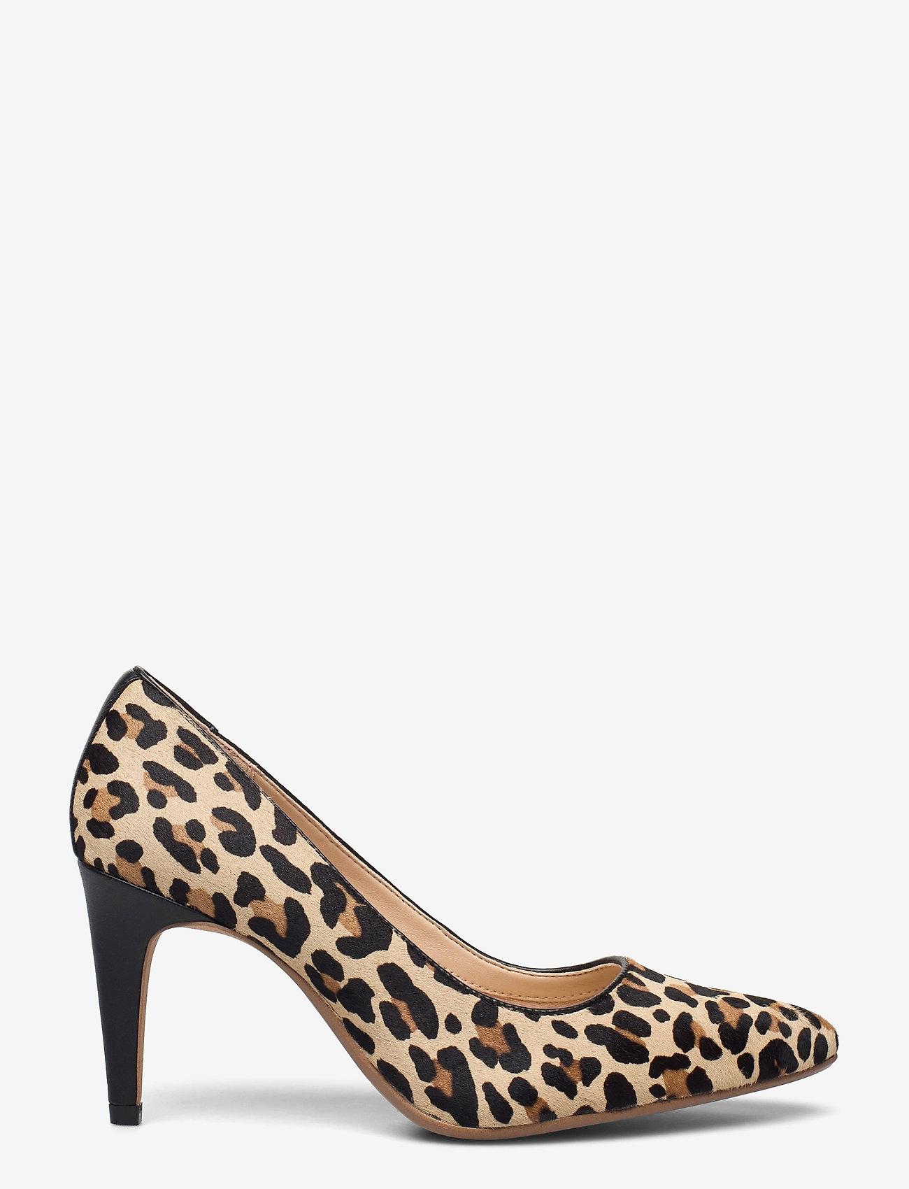 Clarks - Laina Rae - klassiska pumps - leopard print - 1