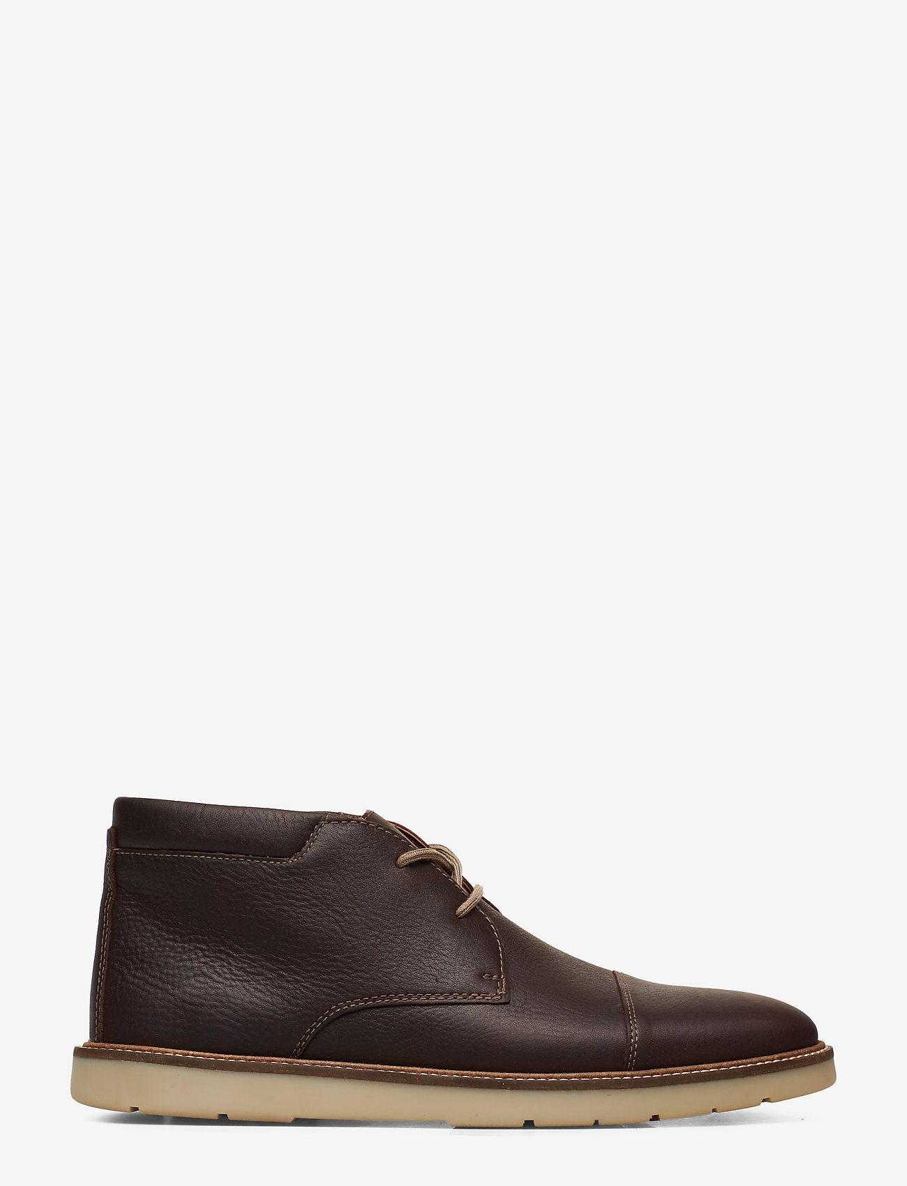 Clarks - Grandin Top - desert boots - dark brn tumbled - 1
