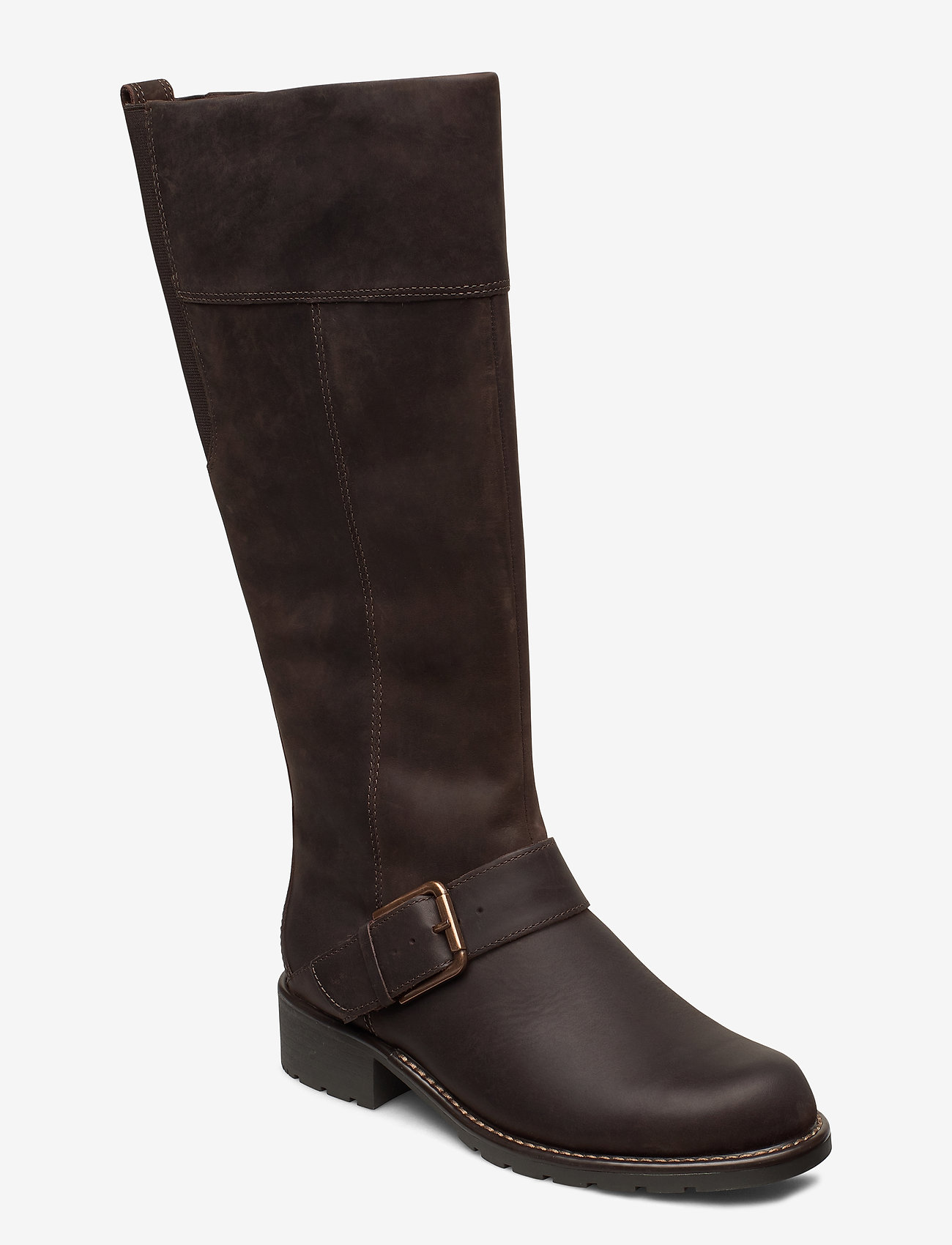 Clarks - Orinoco Jazz - lange laarzen - dark brown nub - 0