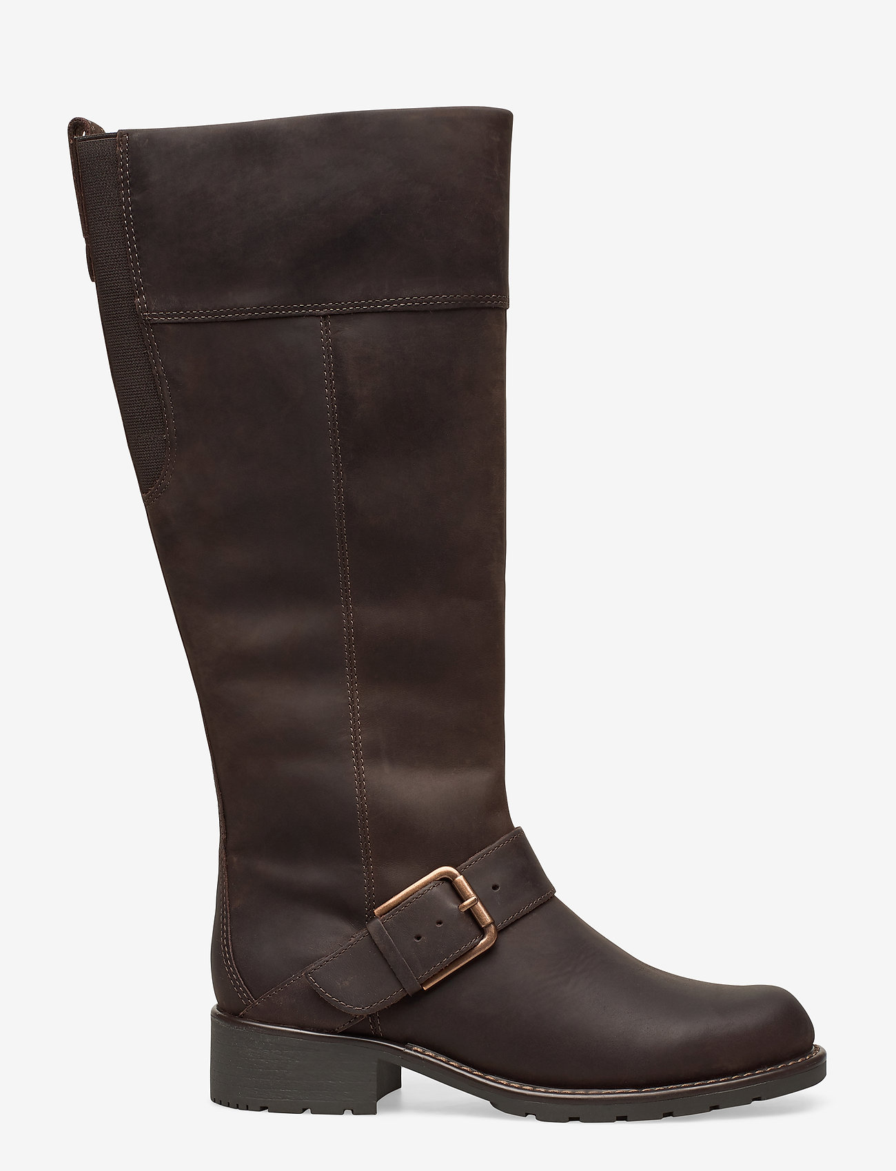 Clarks - Orinoco Jazz - lange laarzen - dark brown nub - 1