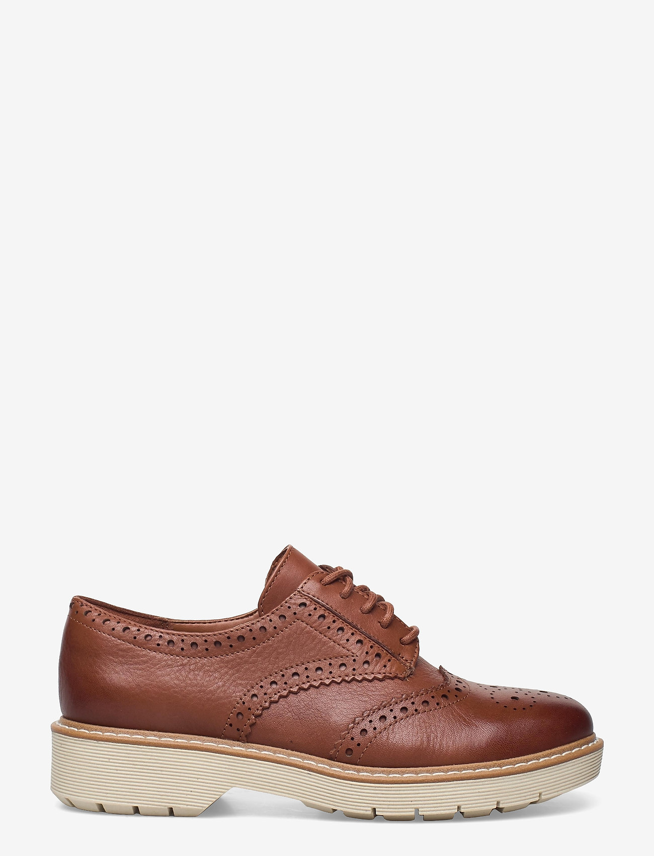 Clarks - Witcombe Echo - snörskor - tan leather - 1