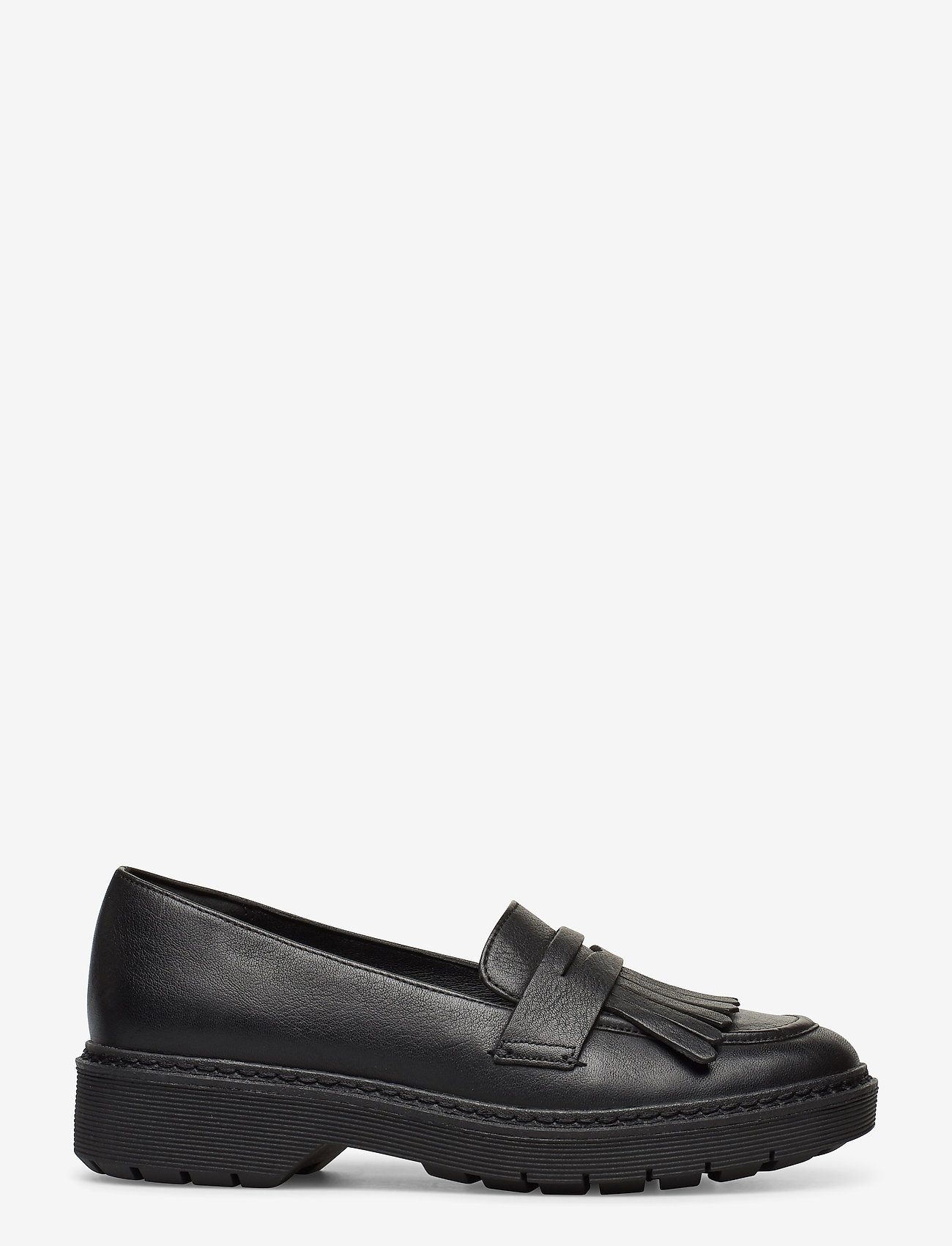 Clarks - Witcombe Dawn - mokasiner - black leather - 1