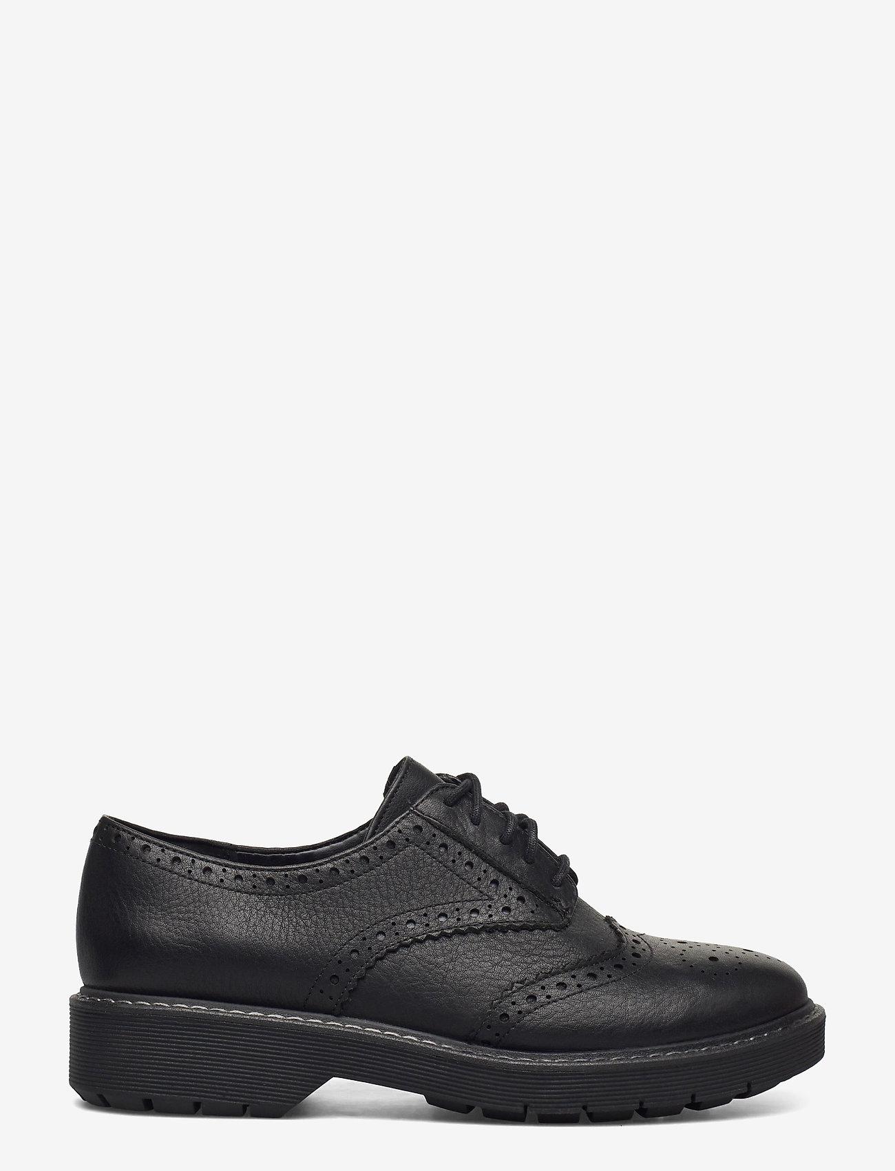Clarks - Witcombe Echo - snörskor - black leather - 1