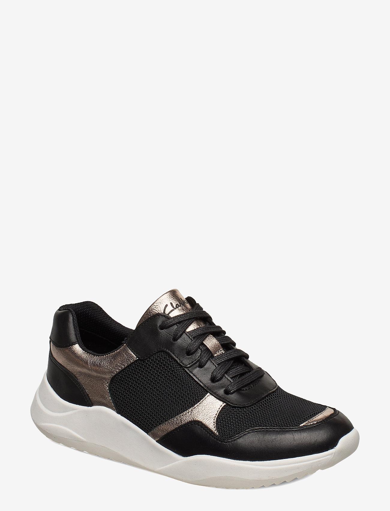 Clarks - Sift Lace - sneakers med lav ankel - black combi - 0