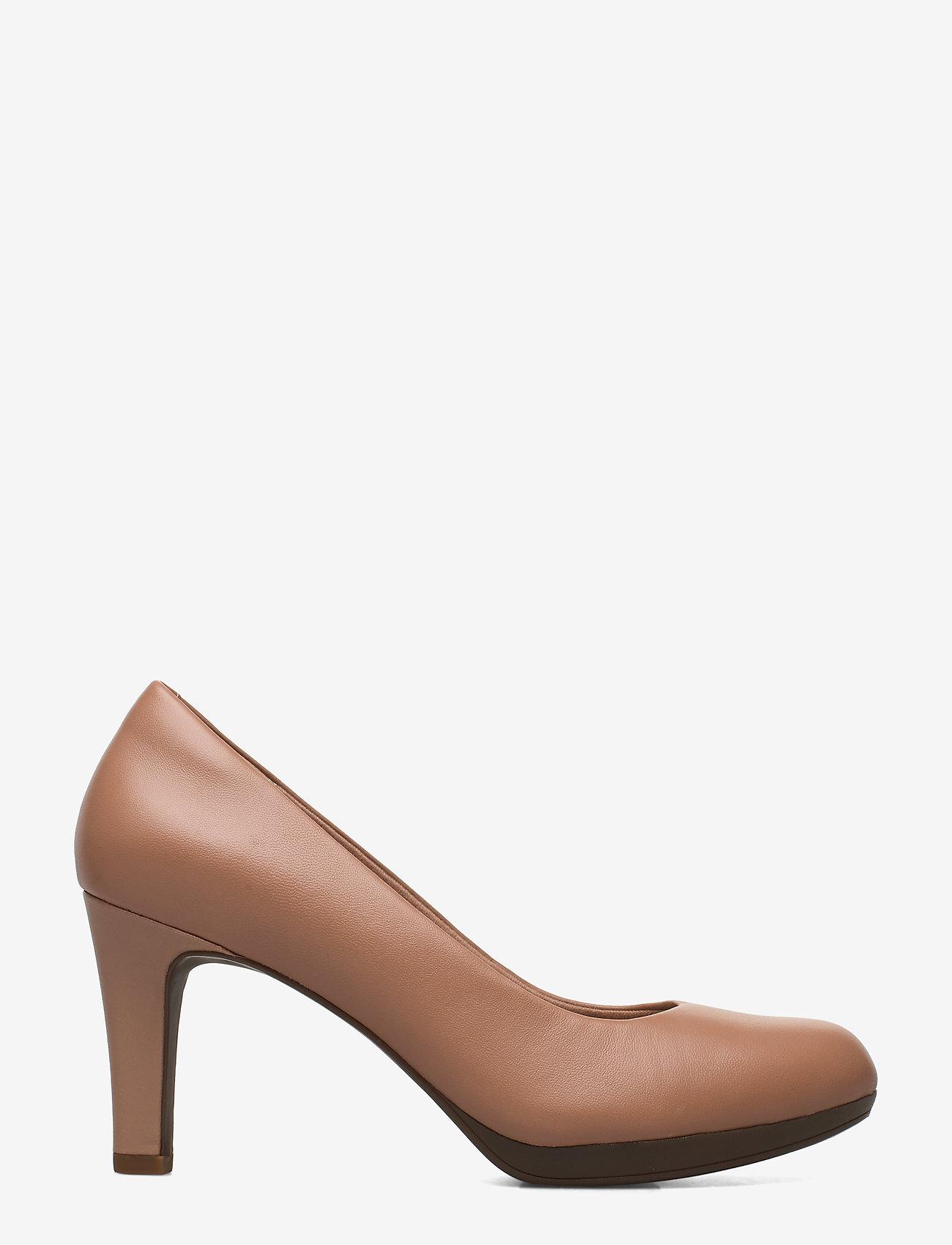 Clarks - Adriel Viola - escarpins classiques - praline leather - 1