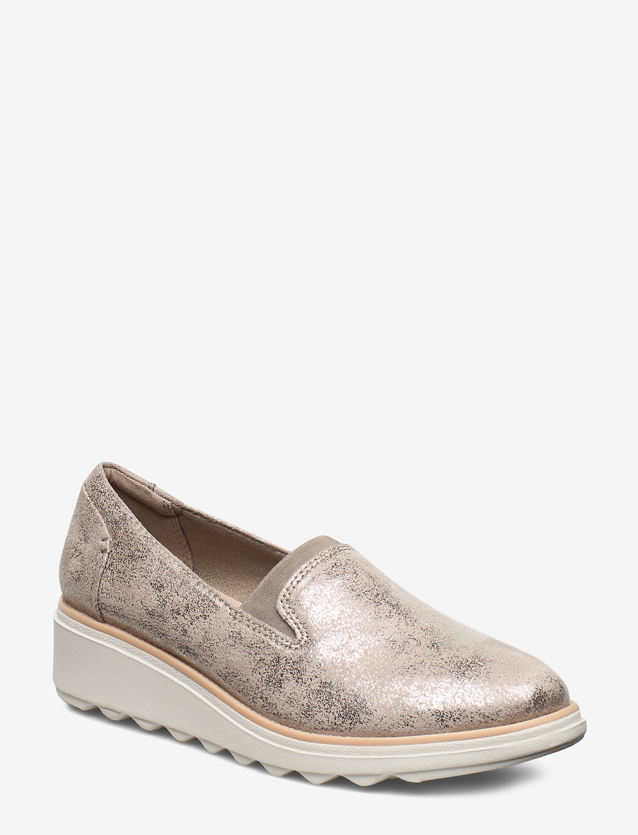 Clarks - Sharon Dolly - slip-on sneakers - pewter - 0