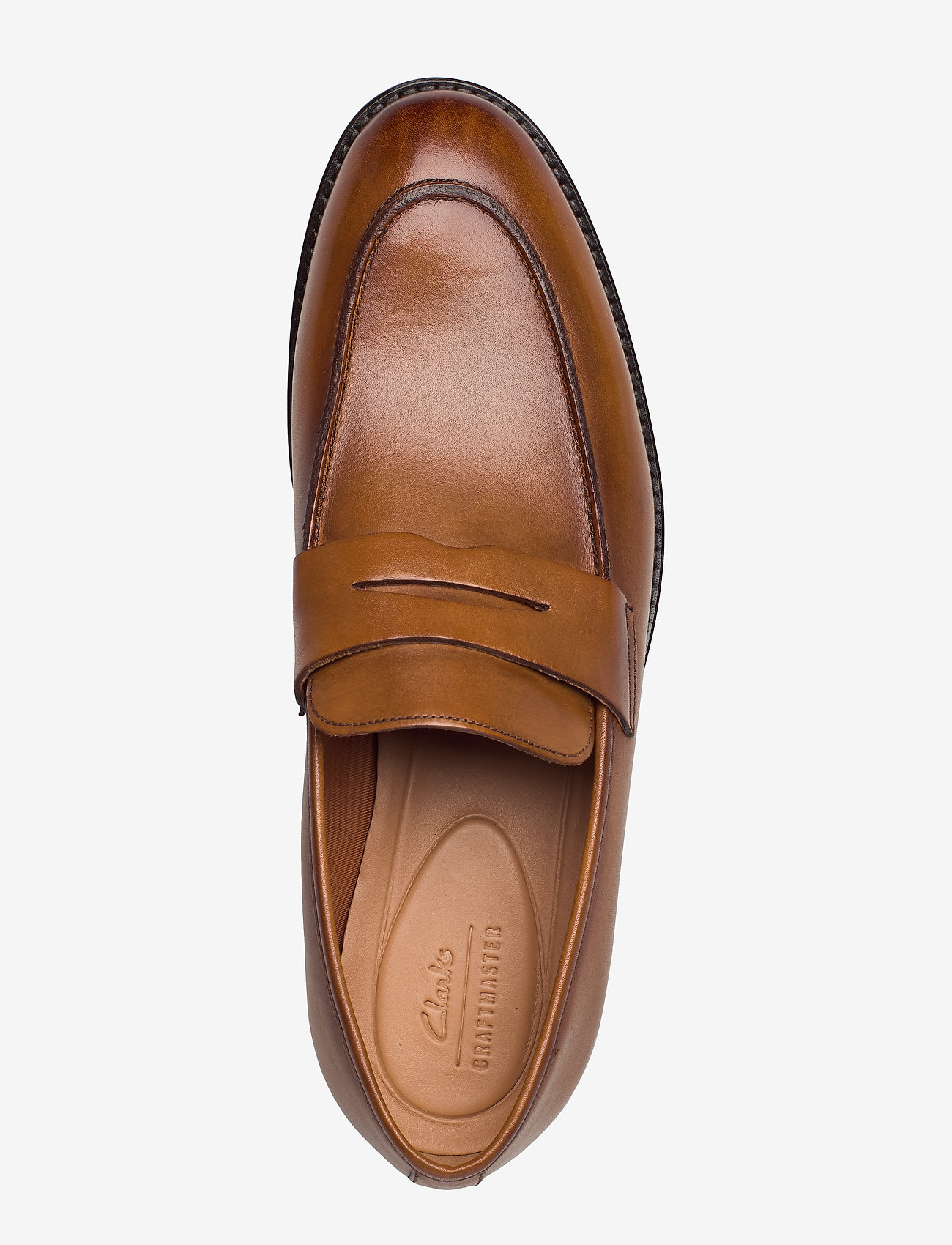 Ronnie Step (Tan Leather) - Clarks