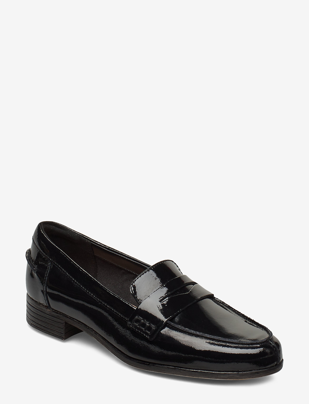 Clarks - Hamble Loafer - loafers - black pat - 0
