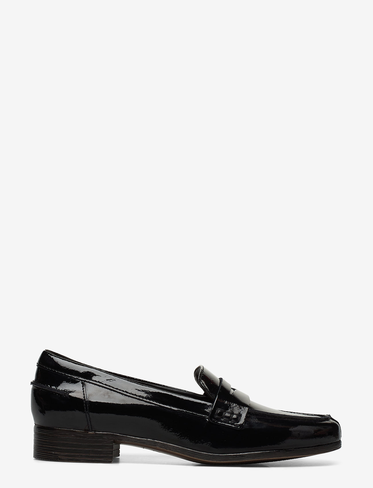 Clarks - Hamble Loafer - loafers - black pat - 1