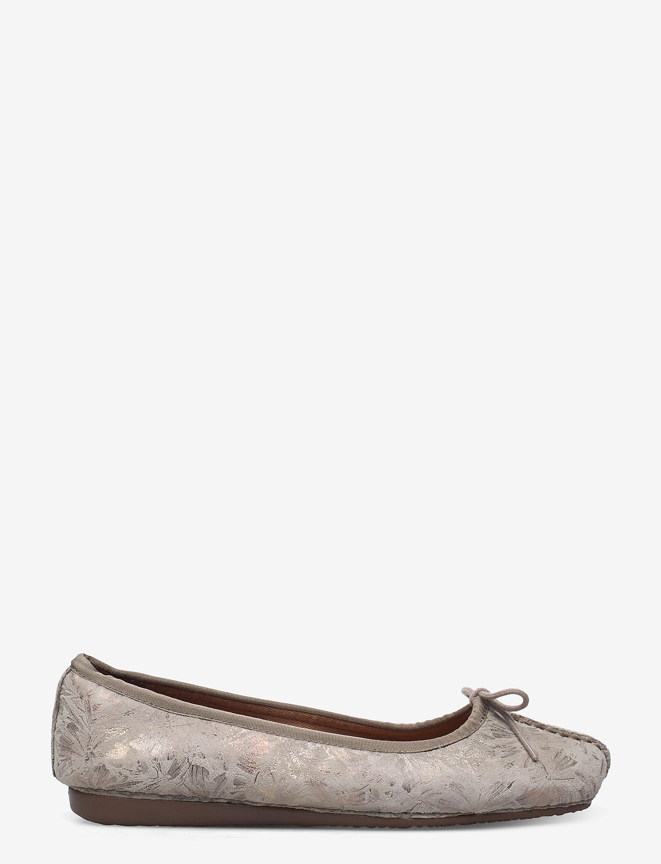 Clarks - Freckle Ice - ballerinas - taupe leather - 1