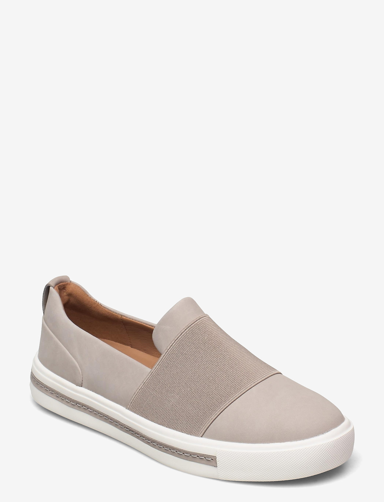 Clarks - Un Maui Step - slip-on sneakers - stone nubuck - 0