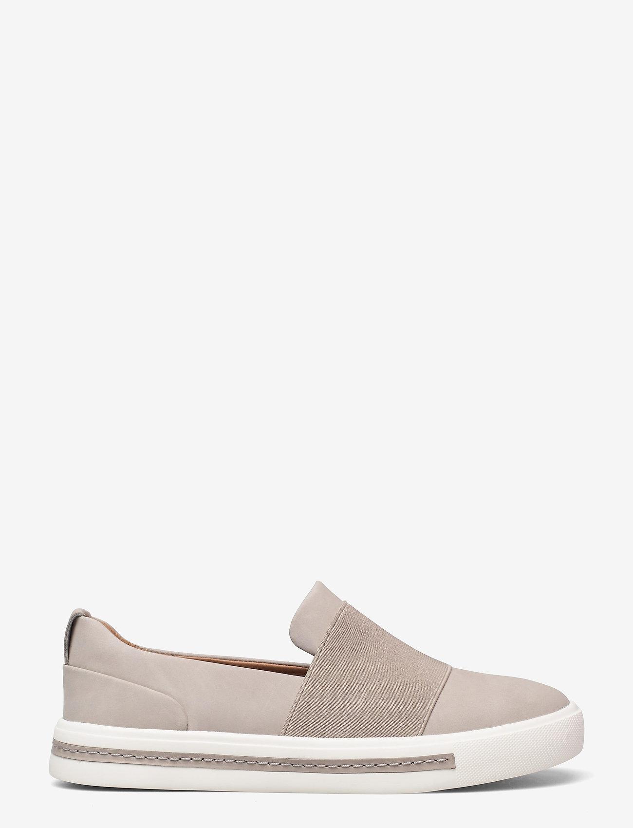 Clarks - Un Maui Step - slip-on sneakers - stone nubuck - 1