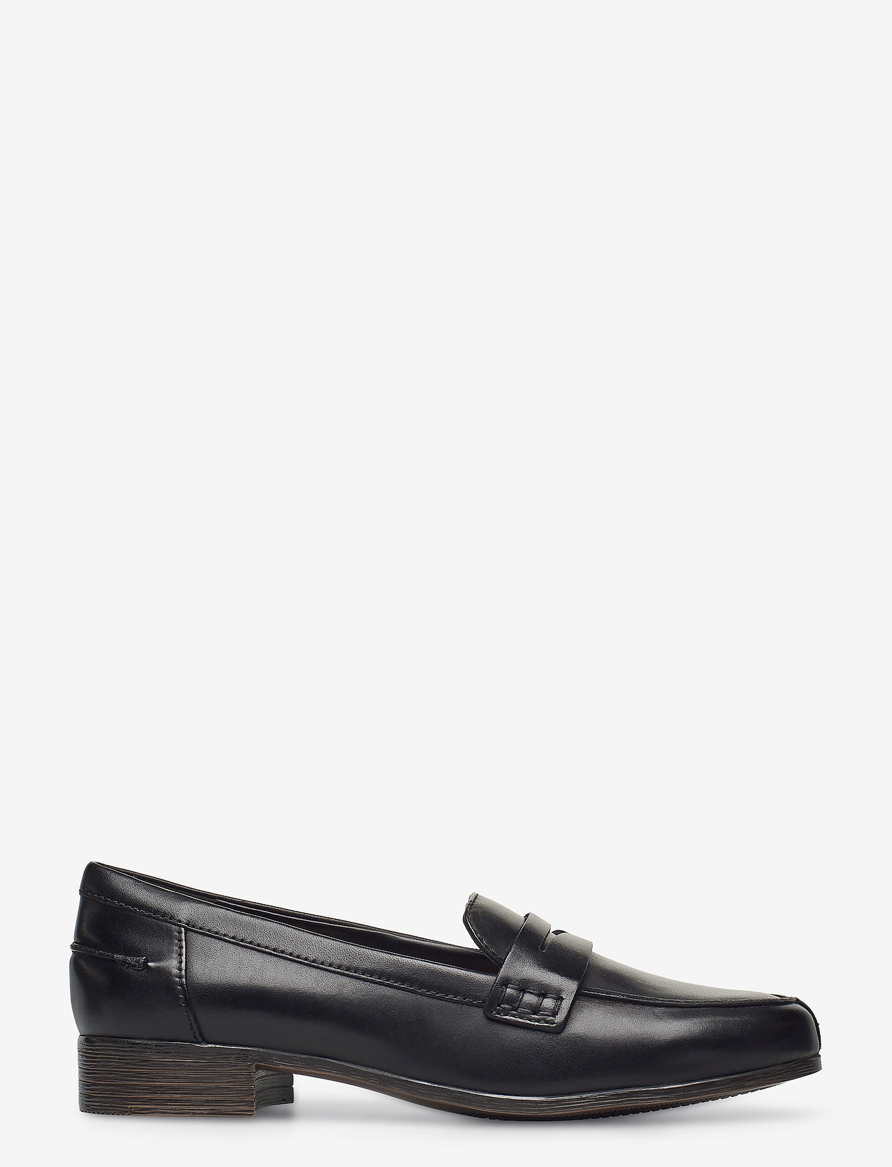 Clarks - Hamble Loafer - mokasiner - black leather - 1