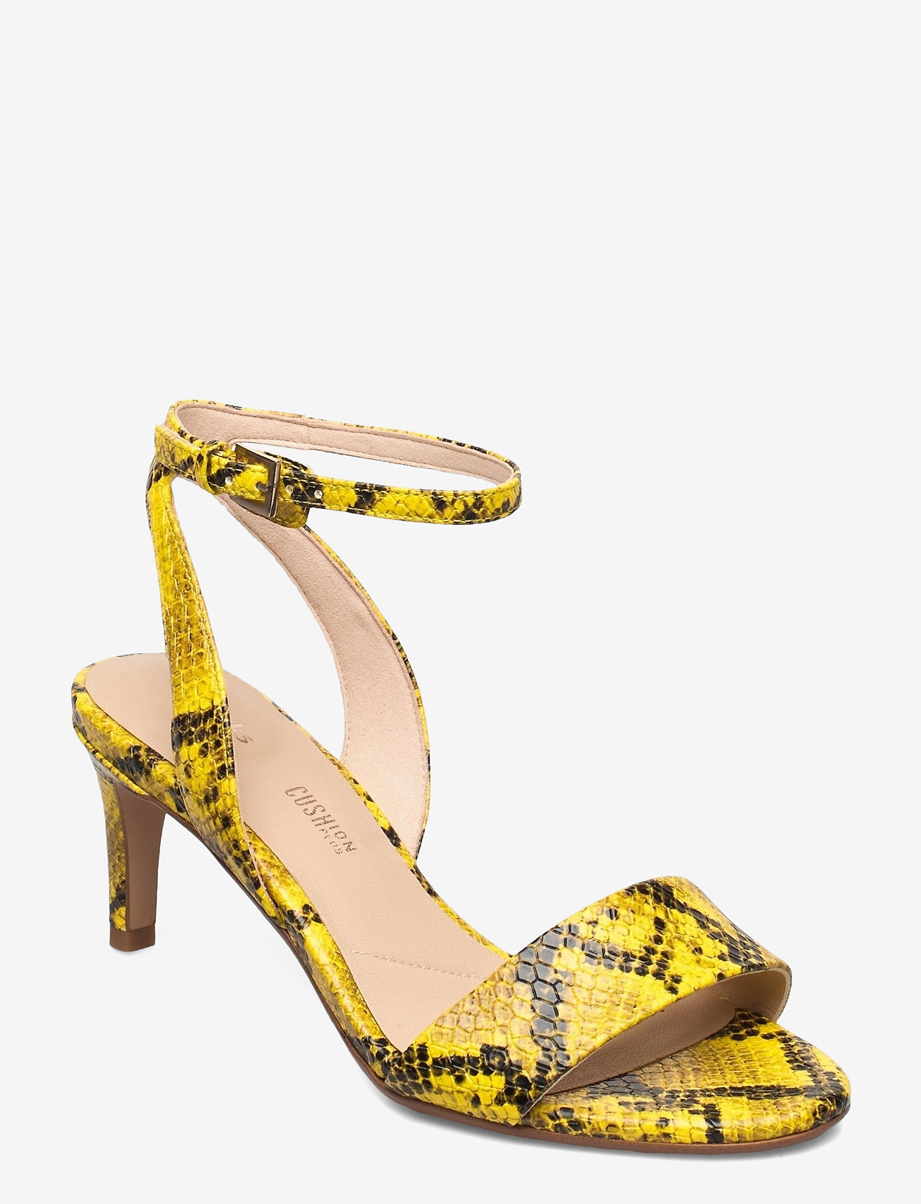 Clarks - Amali Jewel - högklackade sandaler - yellow snake - 0