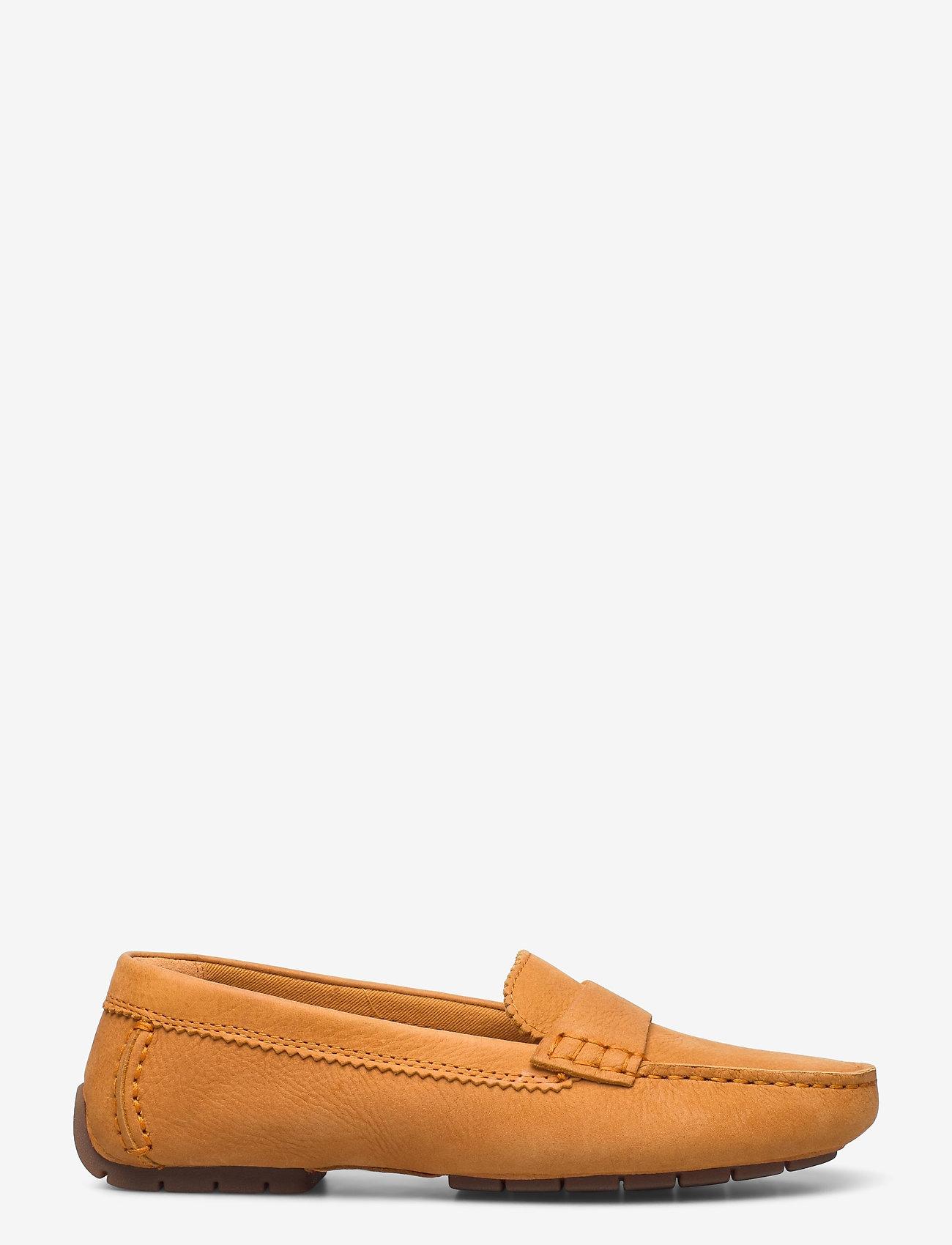 Clarks - C Mocc - loafers - amber nubuck - 1