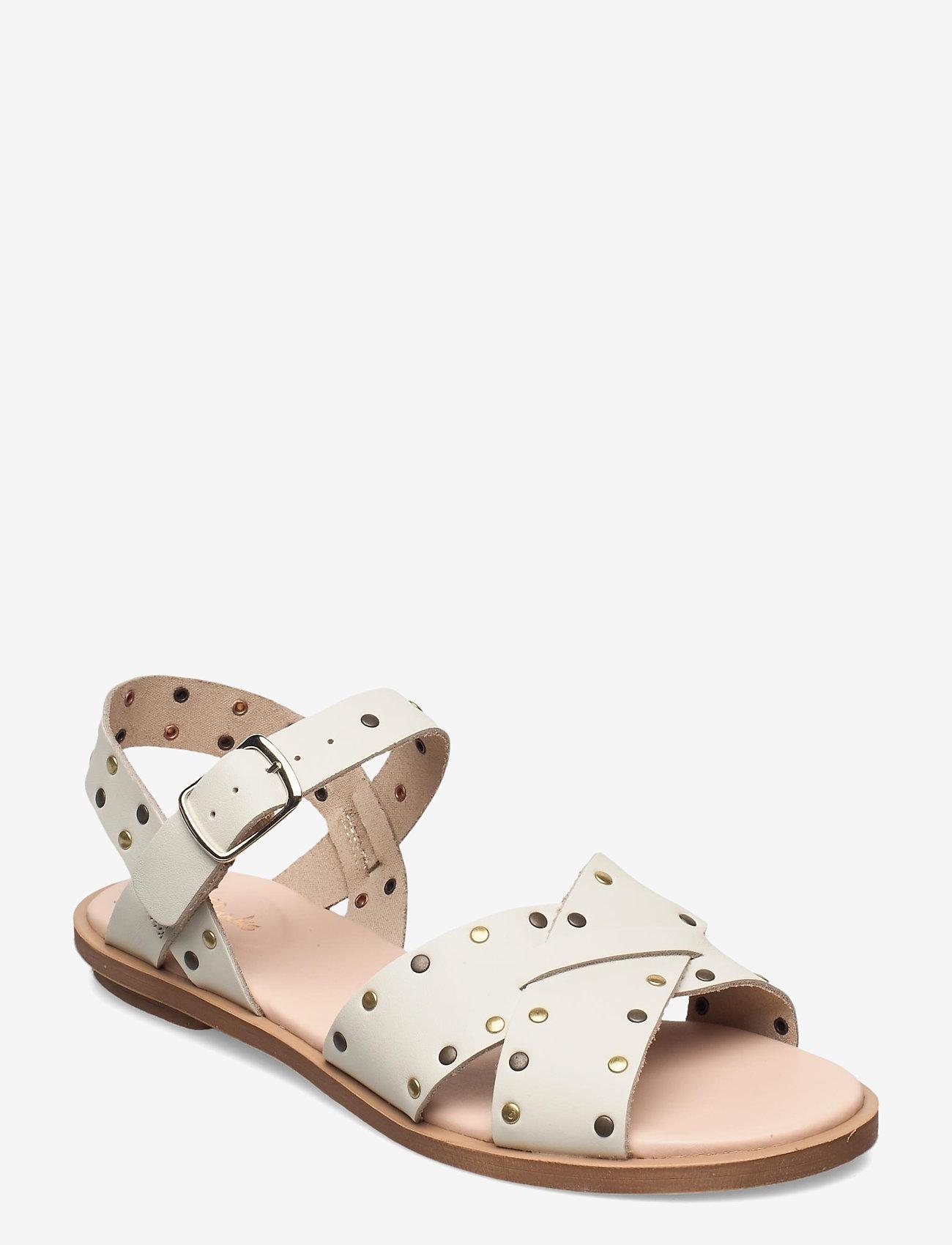 Clarks - Willow Gild - platta sandaler - white - 0