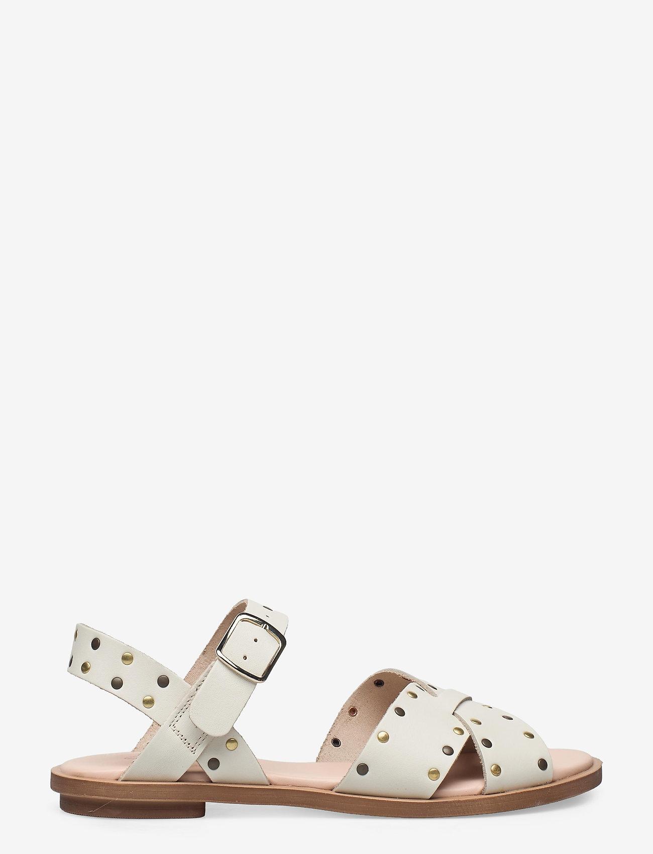 Clarks - Willow Gild - platta sandaler - white - 1