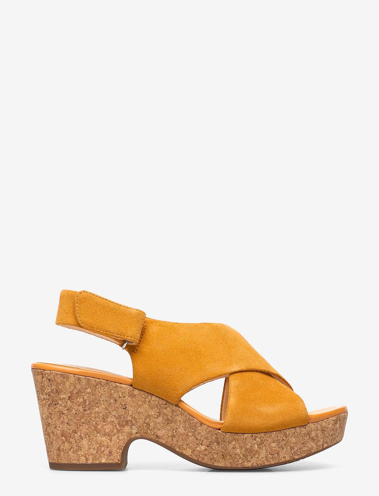 Clarks - Maritsa Lara - sandales à talons - amber suede - 1