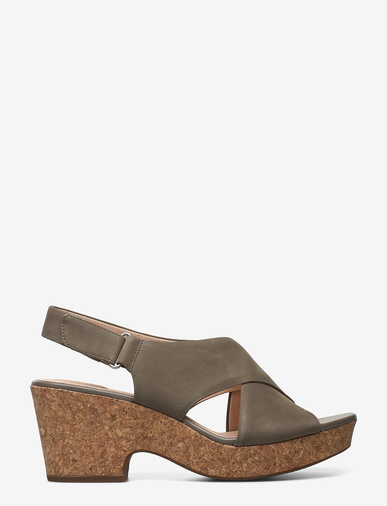 Clarks - Maritsa Lara - högklackade sandaler - sage nubuck - 0
