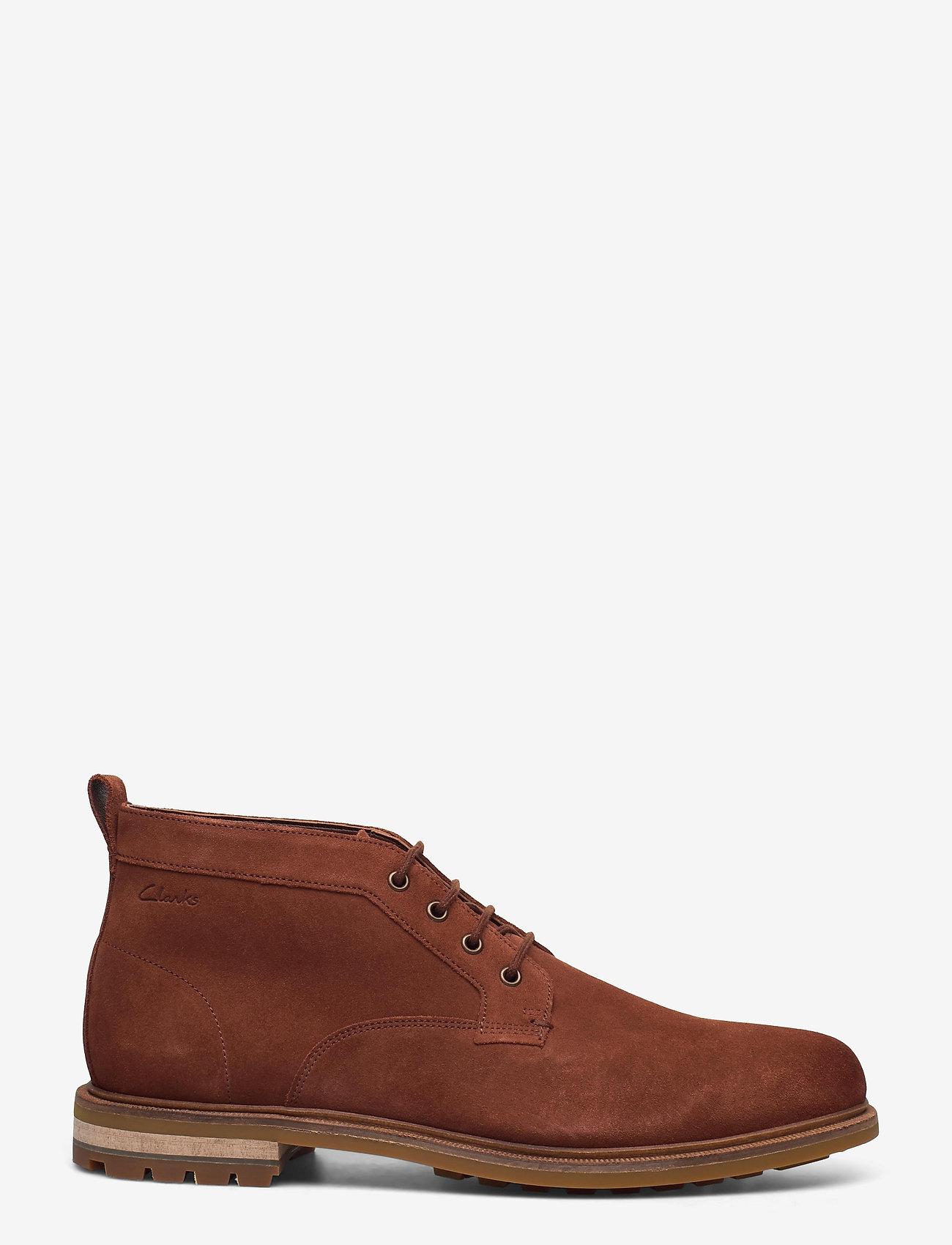 Clarks - Foxwell Mid - desert boots - british tan - 1
